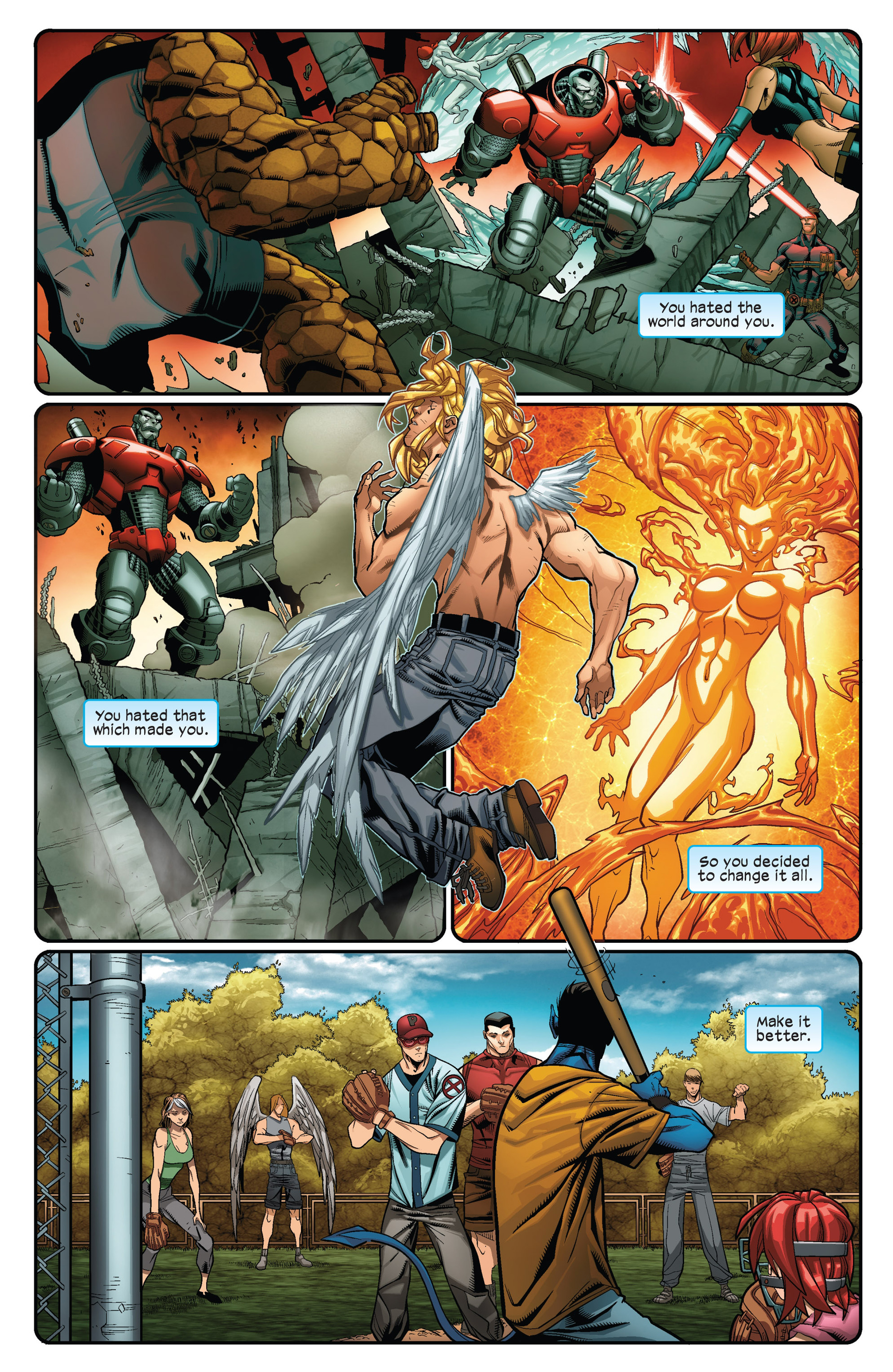 Read online Ultimate Comics X-Men comic -  Issue #12 - 17