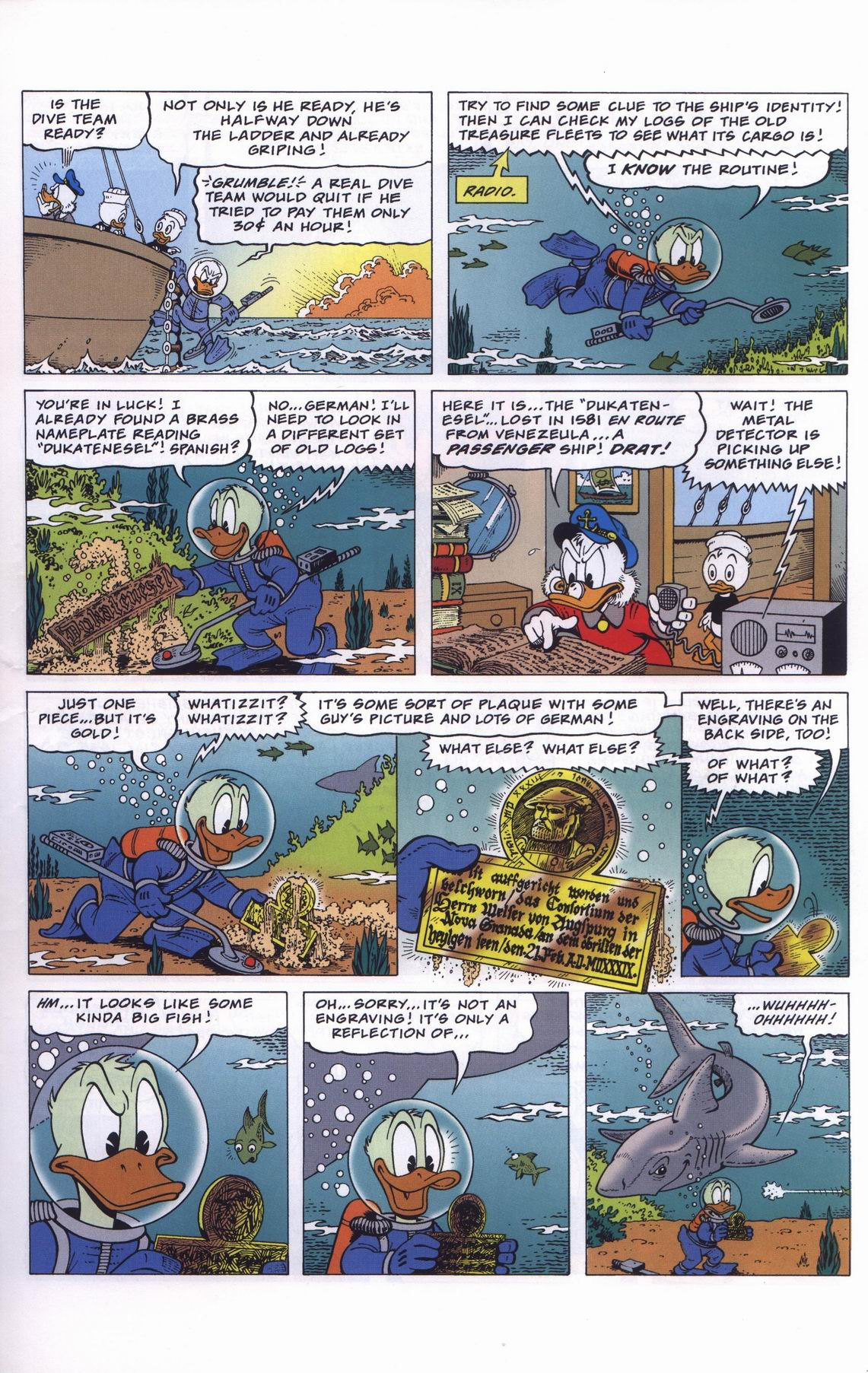 Read online Uncle Scrooge (1953) comic -  Issue #311 - 7