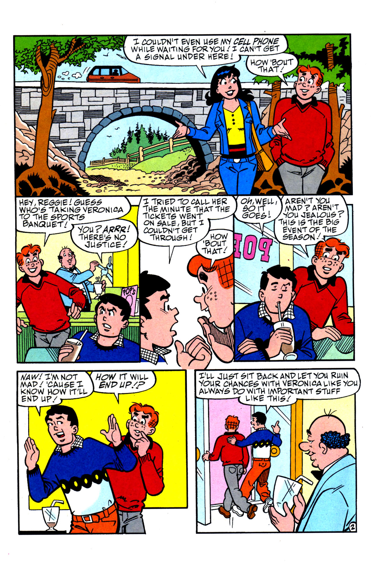 Read online Archie (1960) comic -  Issue #578 - 22