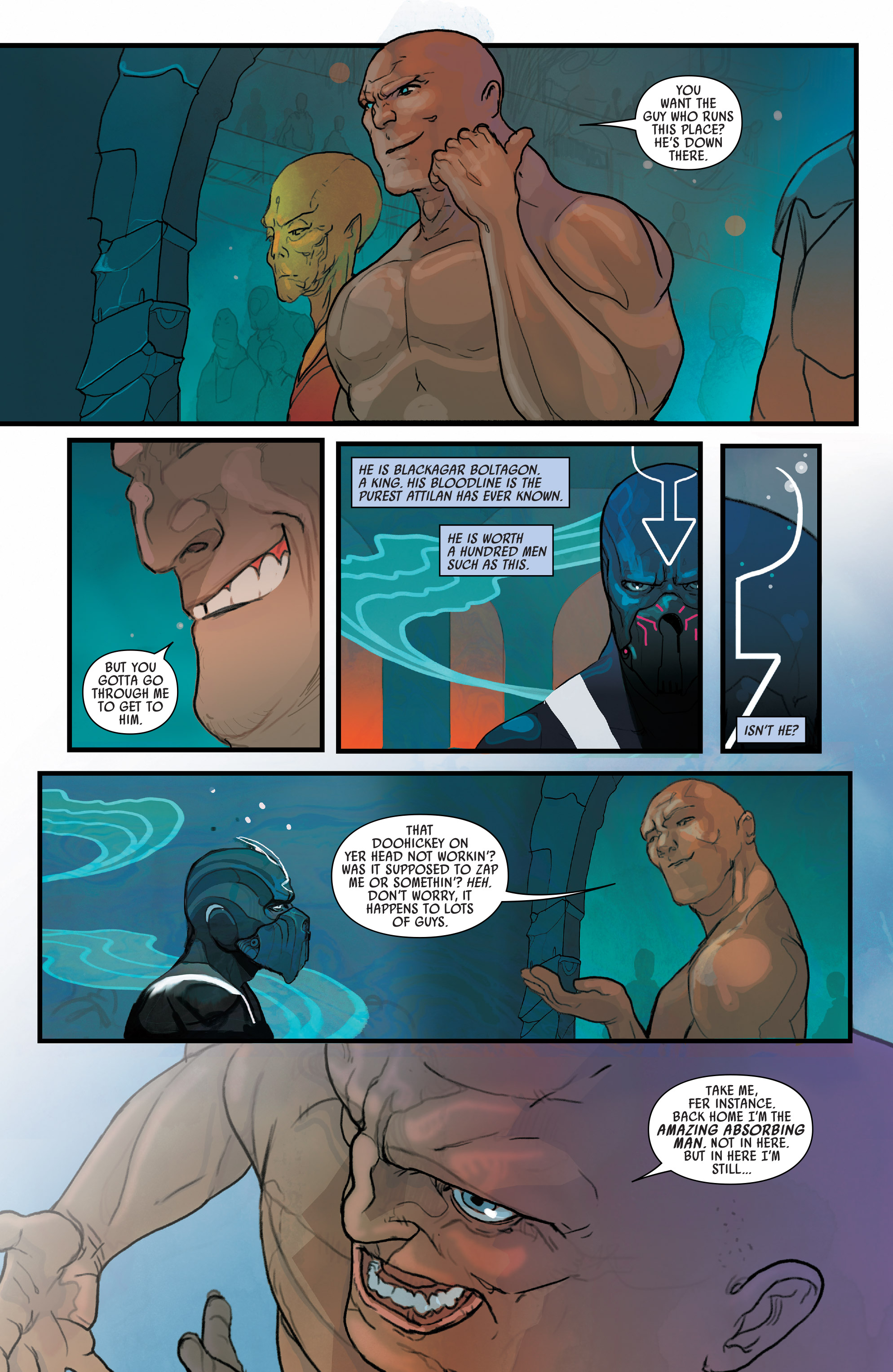 Read online Black Bolt comic -  Issue #1 - 14