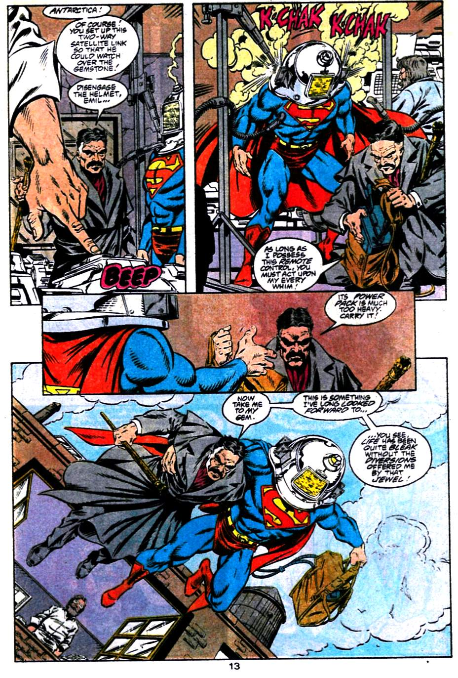 Read online Adventures of Superman (1987) comic -  Issue #484 - 14