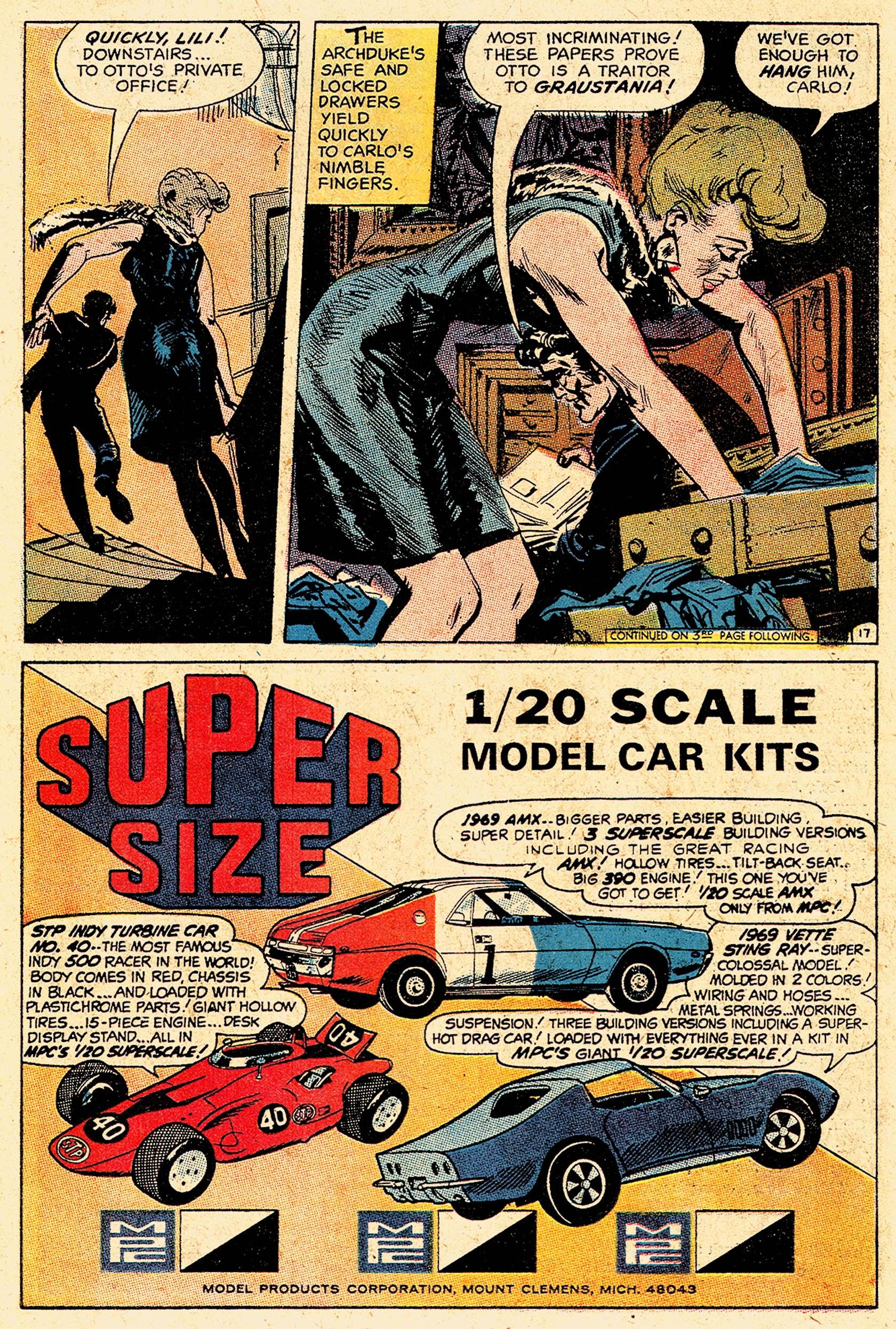 Read online Secret Six (1968) comic -  Issue #5 - 22
