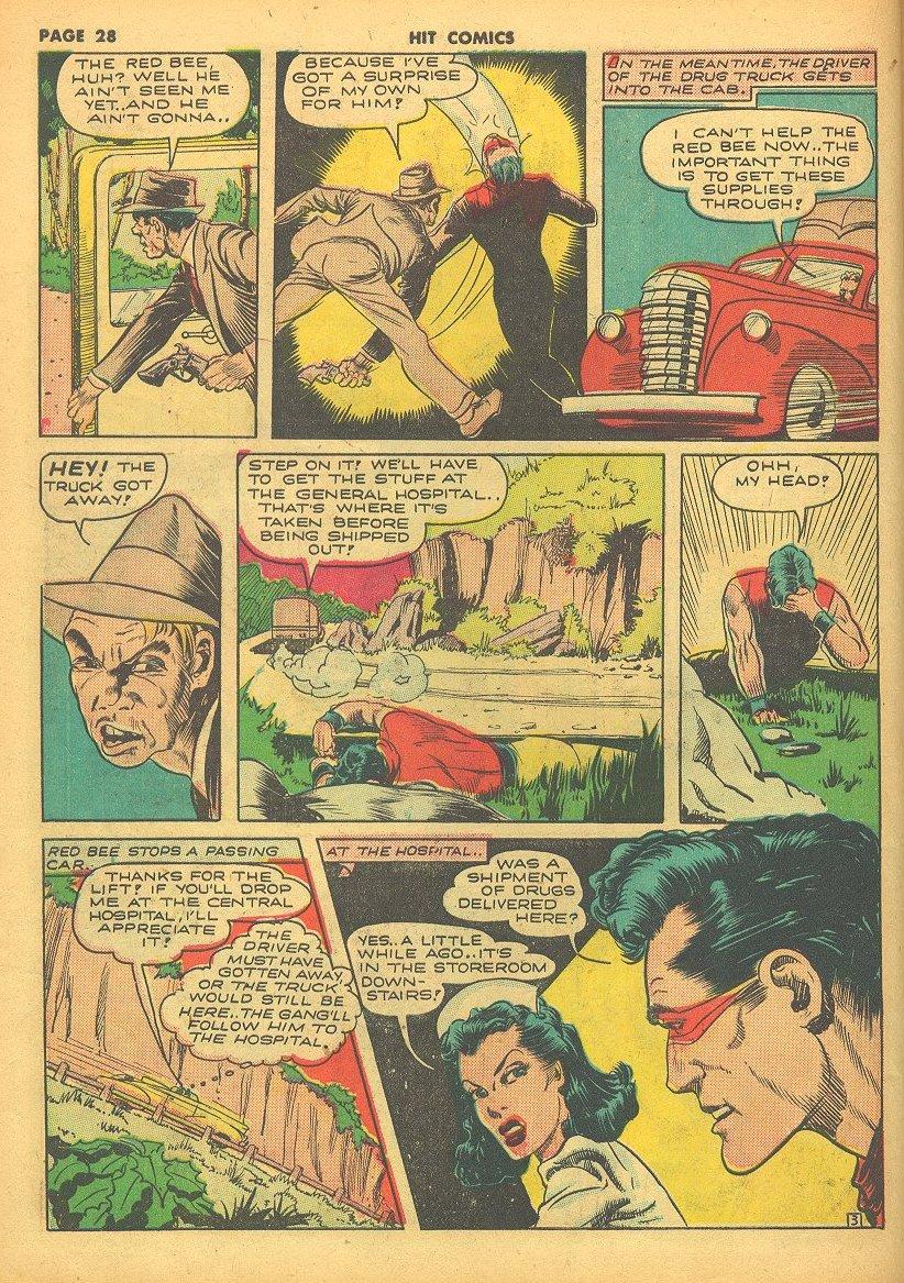 Read online Hit Comics comic -  Issue #24 - 30