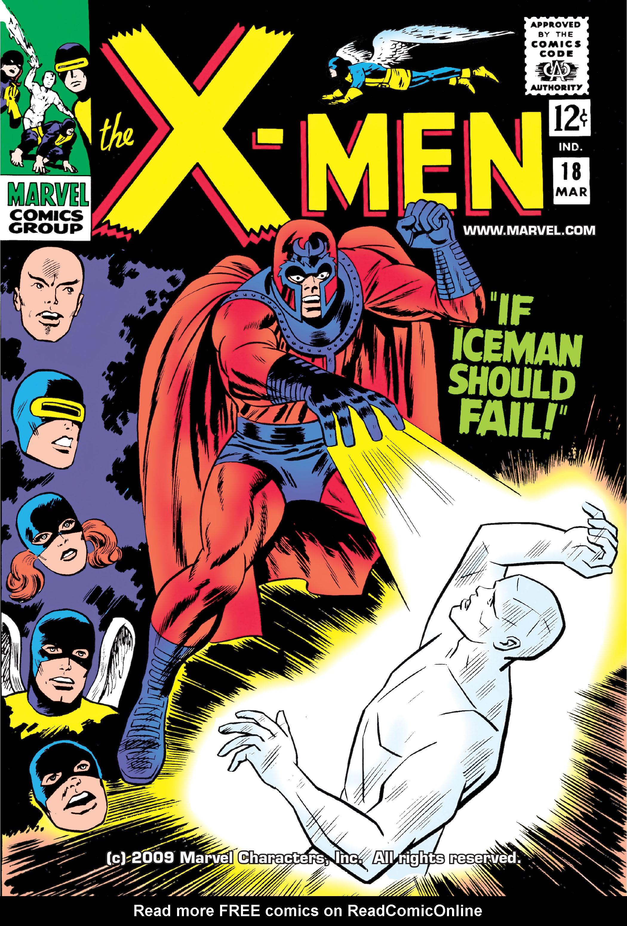 Uncanny X-Men (1963) 18 Page 1