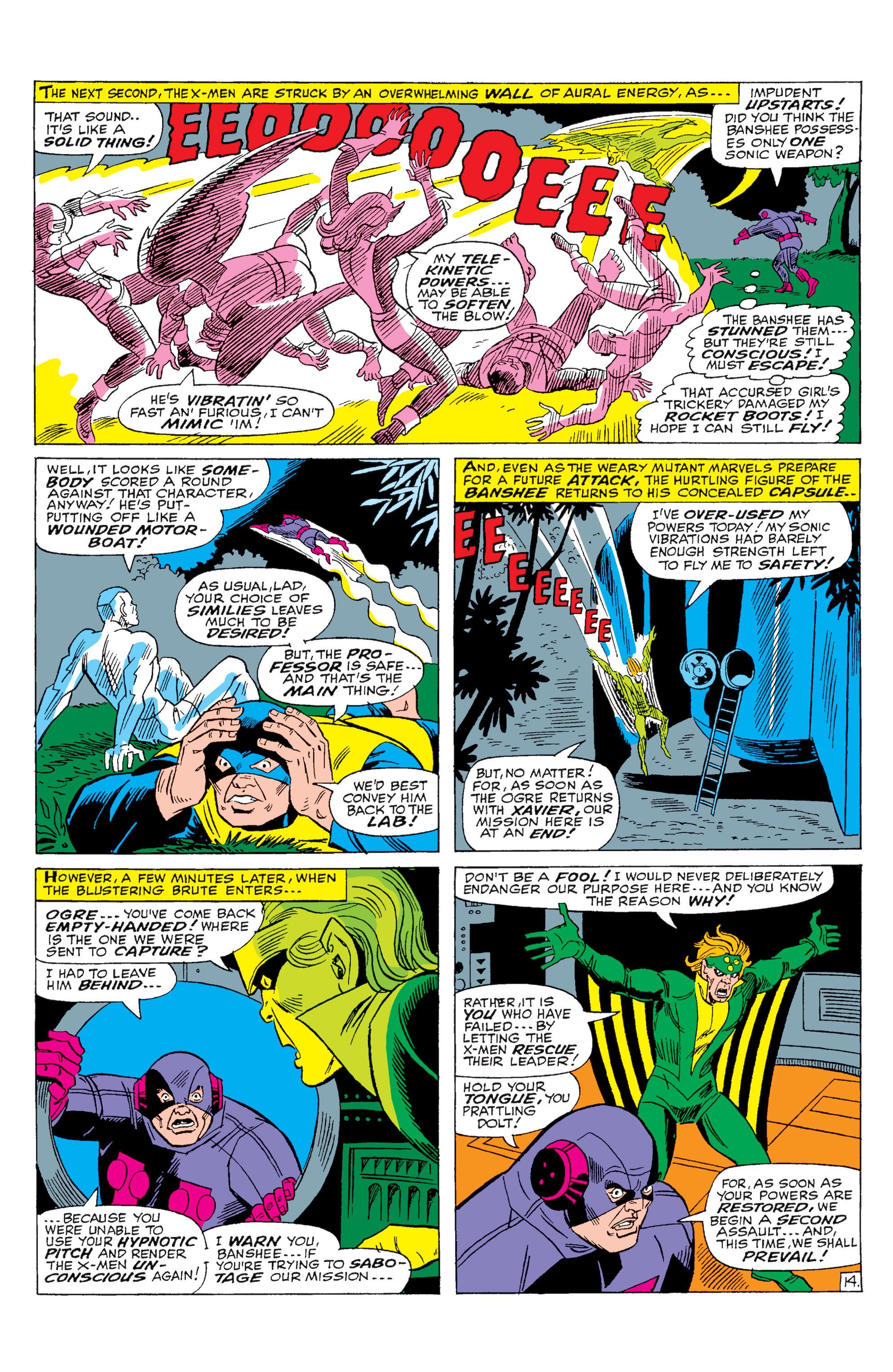 Read online Uncanny X-Men (1963) comic -  Issue #28 - 15