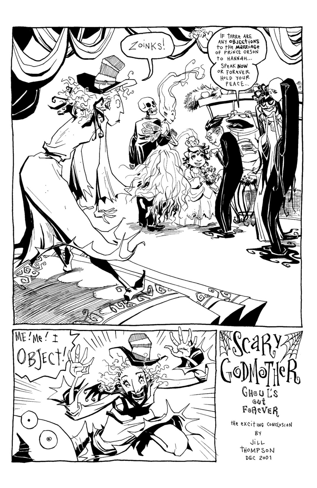 Read online Scary Godmother Comic Book Stories comic -  Issue # TPB - 243