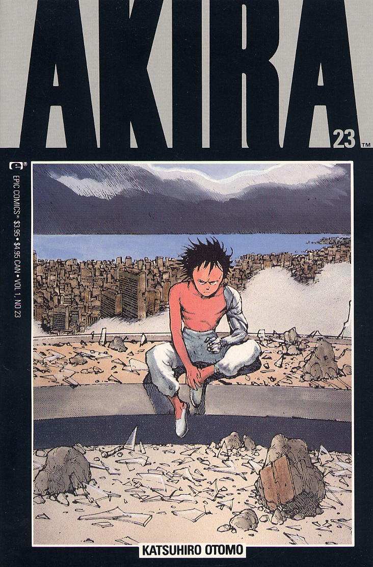 Read online Akira comic -  Issue #23 - 1