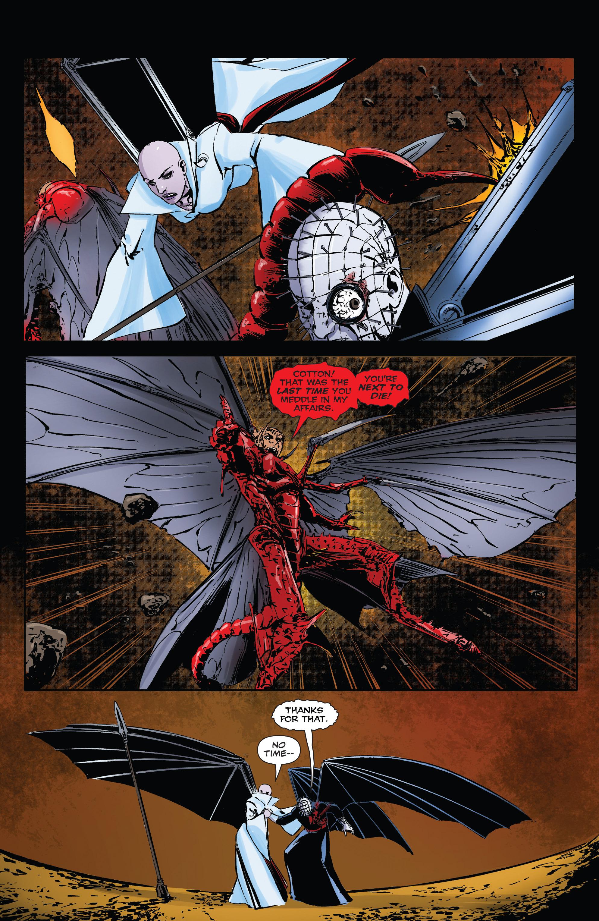 Read online Clive Barker's Hellraiser: The Dark Watch comic -  Issue # TPB 3 - 75