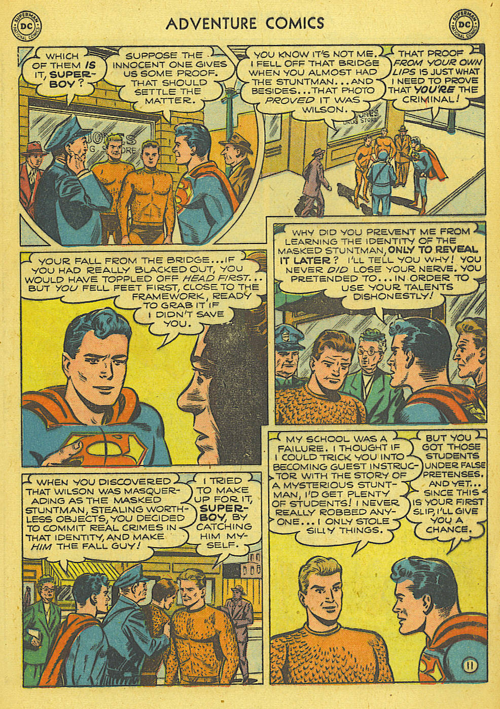 Read online Adventure Comics (1938) comic -  Issue #165 - 12