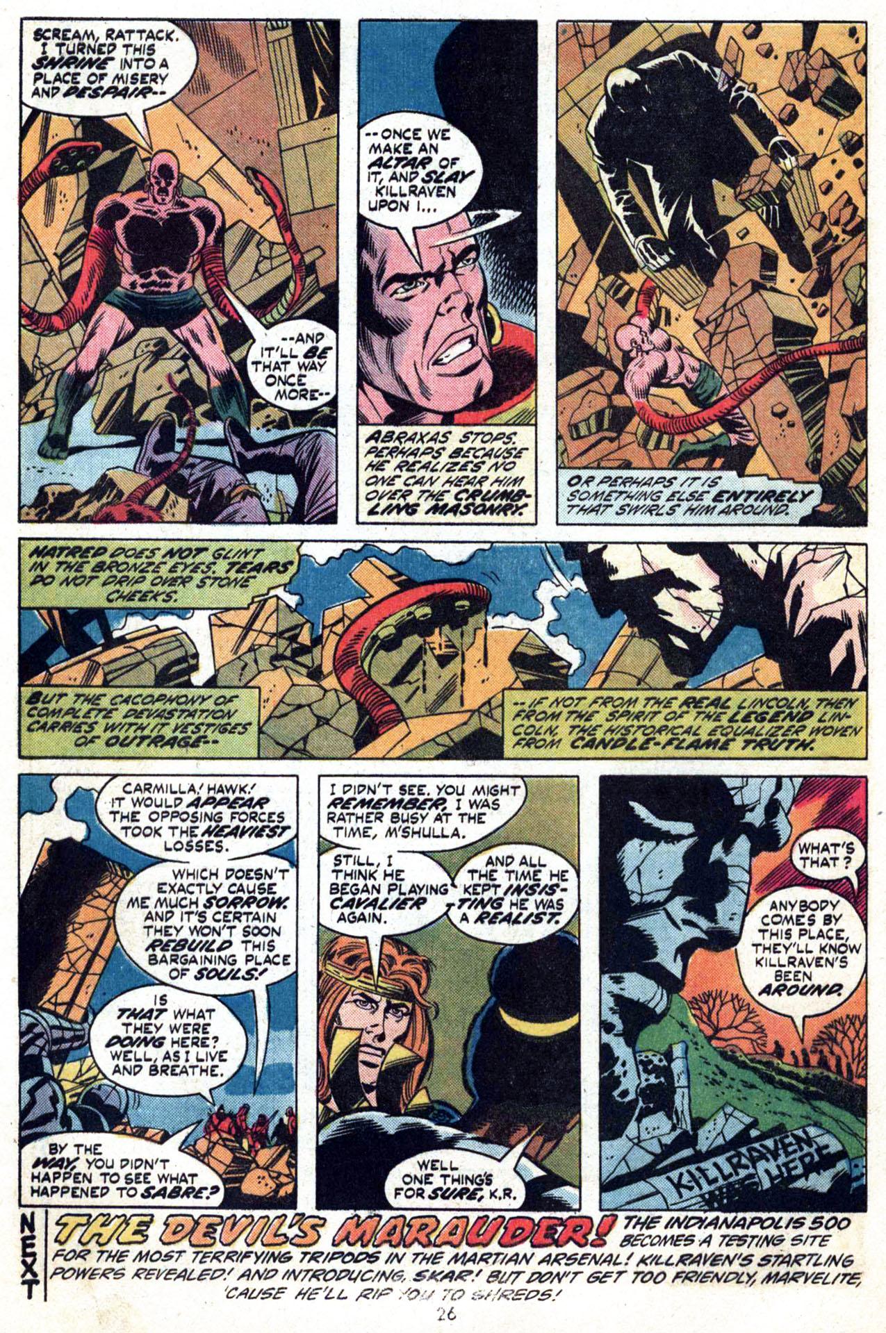 Read online Amazing Adventures (1970) comic -  Issue #24 - 26