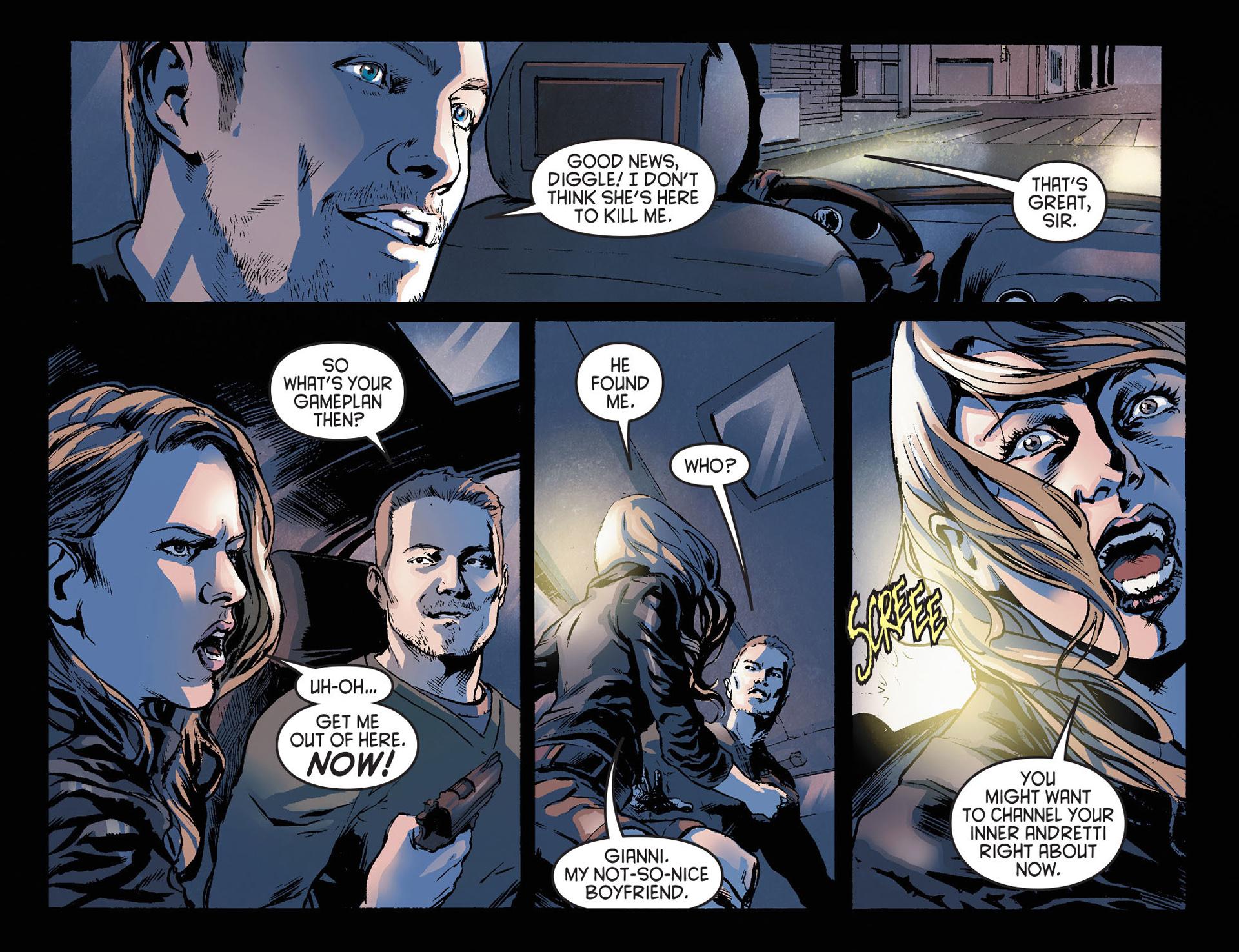 Read online Arrow [II] comic -  Issue #21 - 6