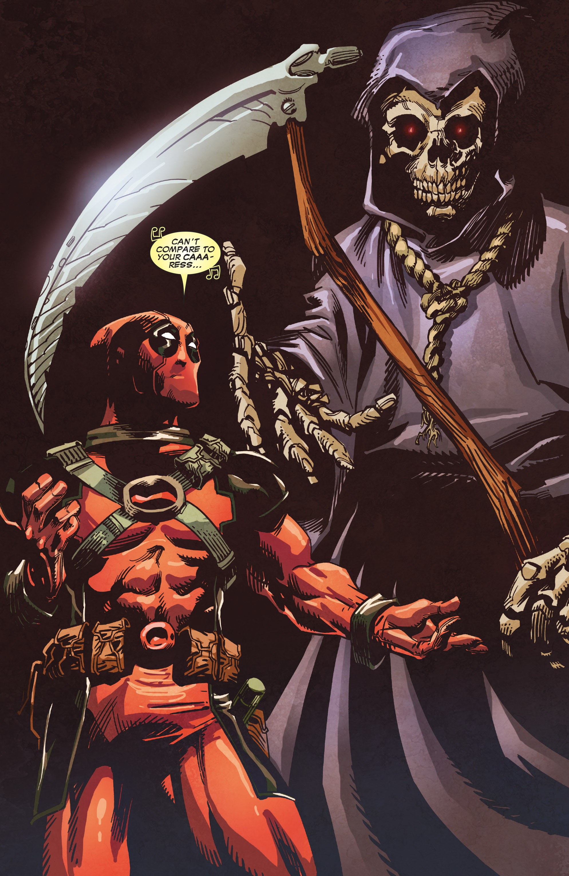 Read online True Believers: Deadpool the Musical comic -  Issue # Full - 21