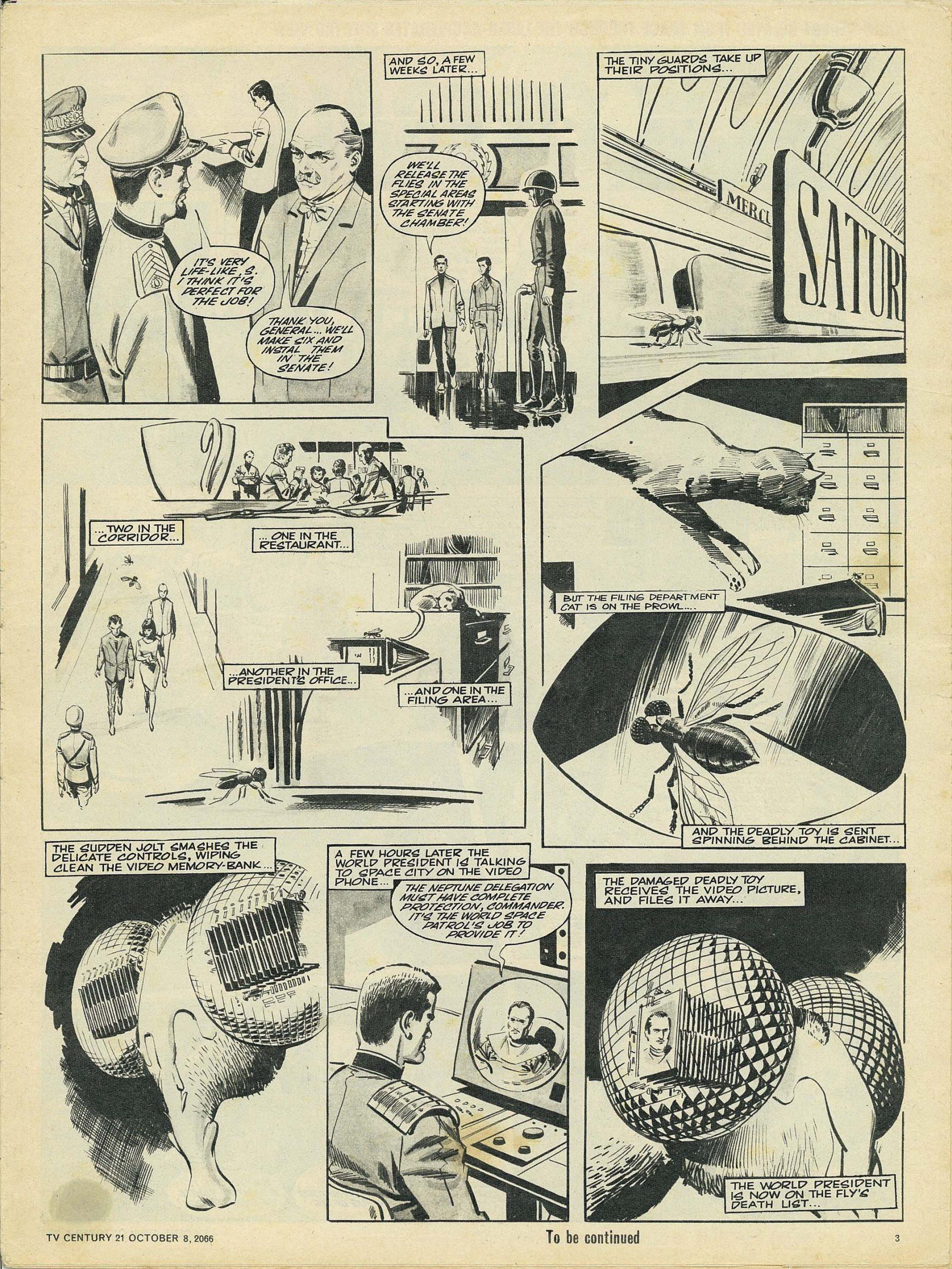 Read online TV Century 21 (TV 21) comic -  Issue #90 - 3