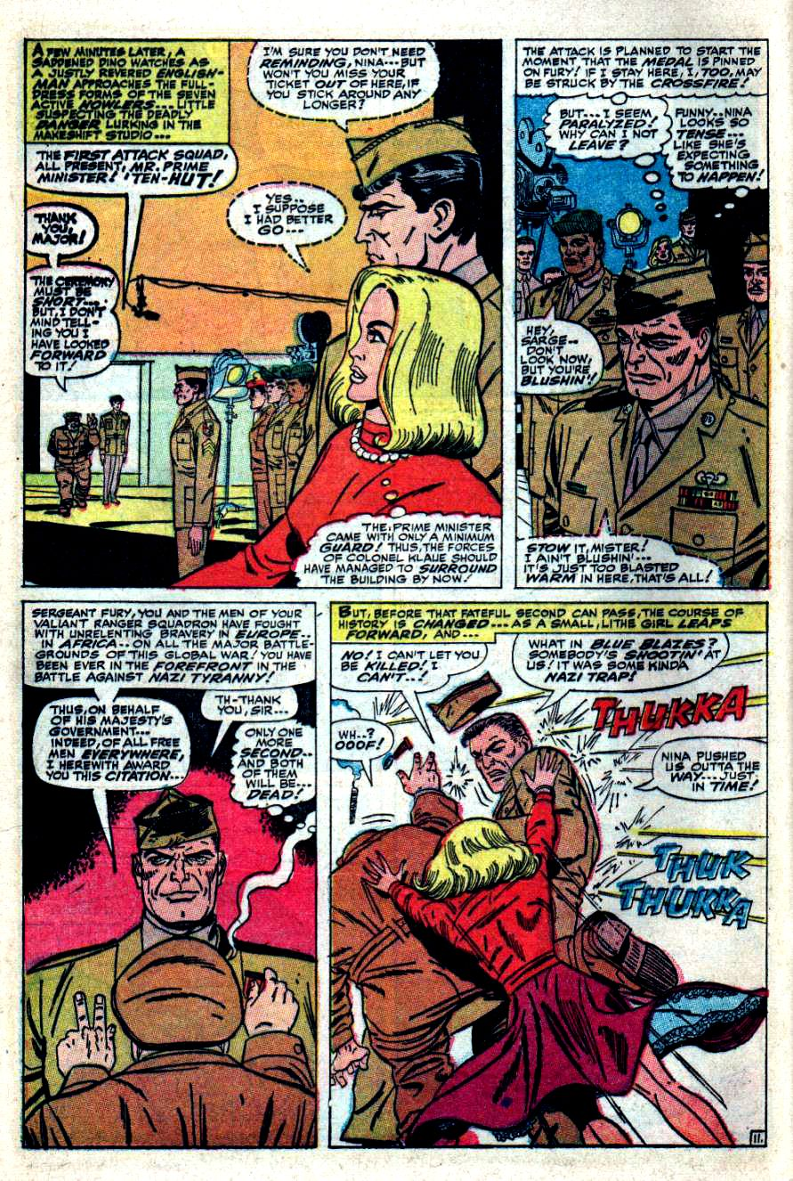 Read online Sgt. Fury comic -  Issue #41 - 16