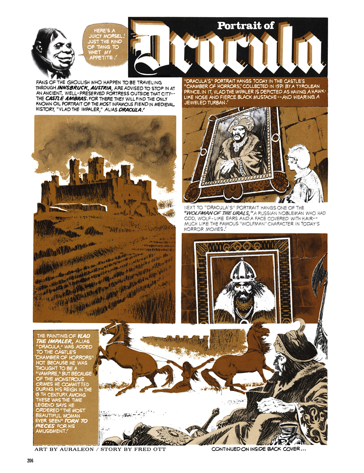 Read online Eerie Archives comic -  Issue # TPB 9 - 207