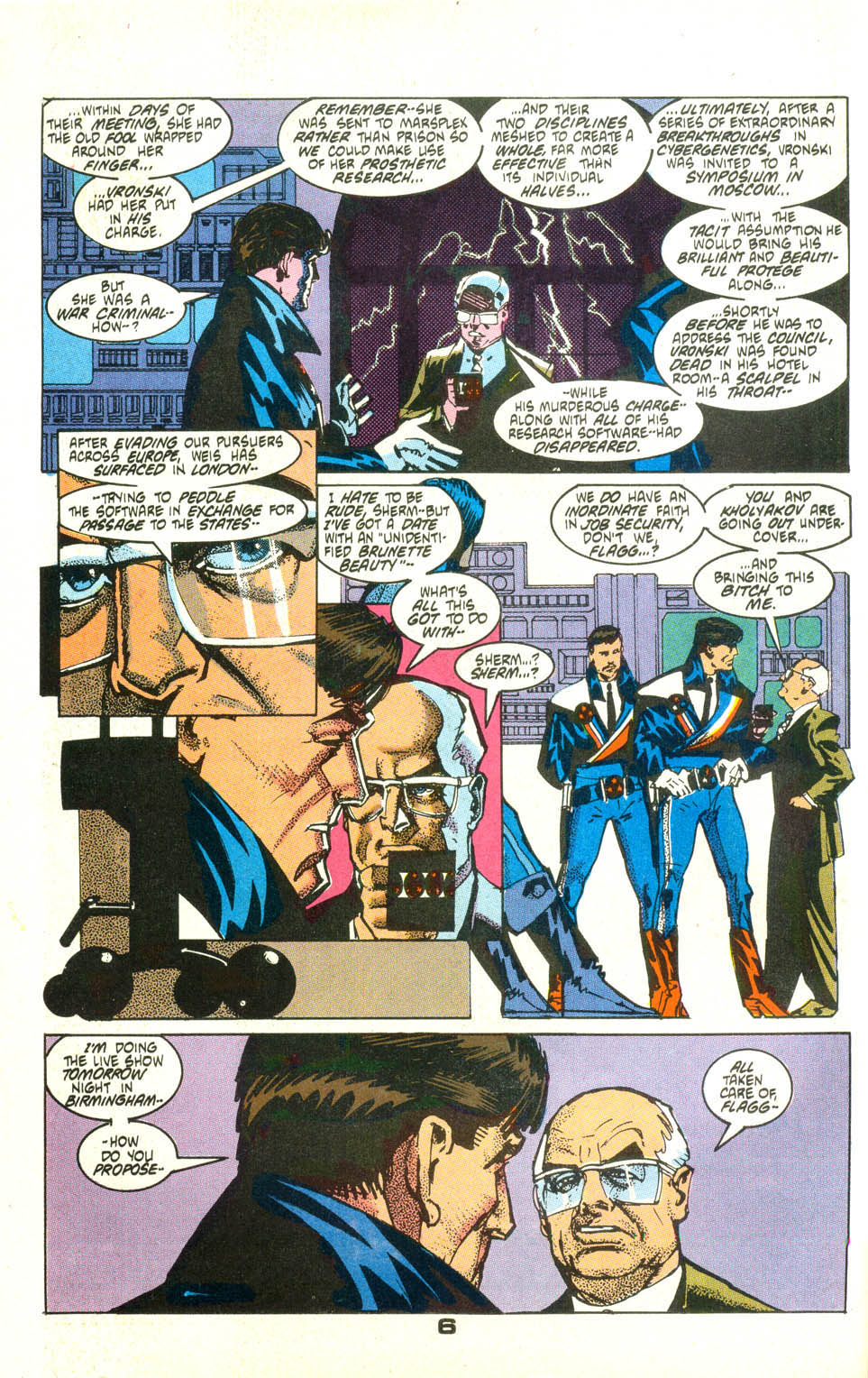 Read online American Flagg! comic -  Issue #25 - 7