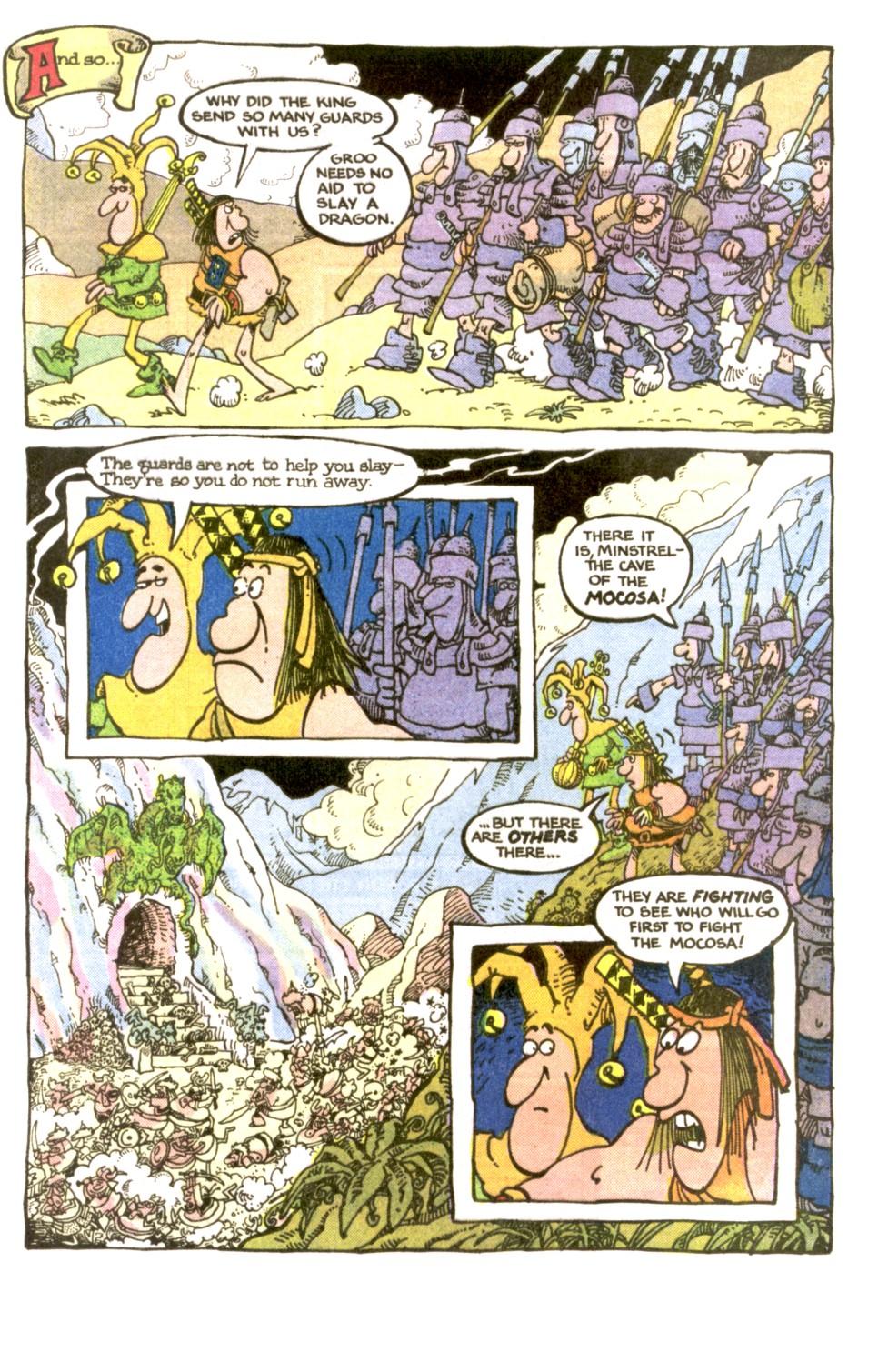 Read online Sergio Aragonés Groo the Wanderer comic -  Issue #2 - 8