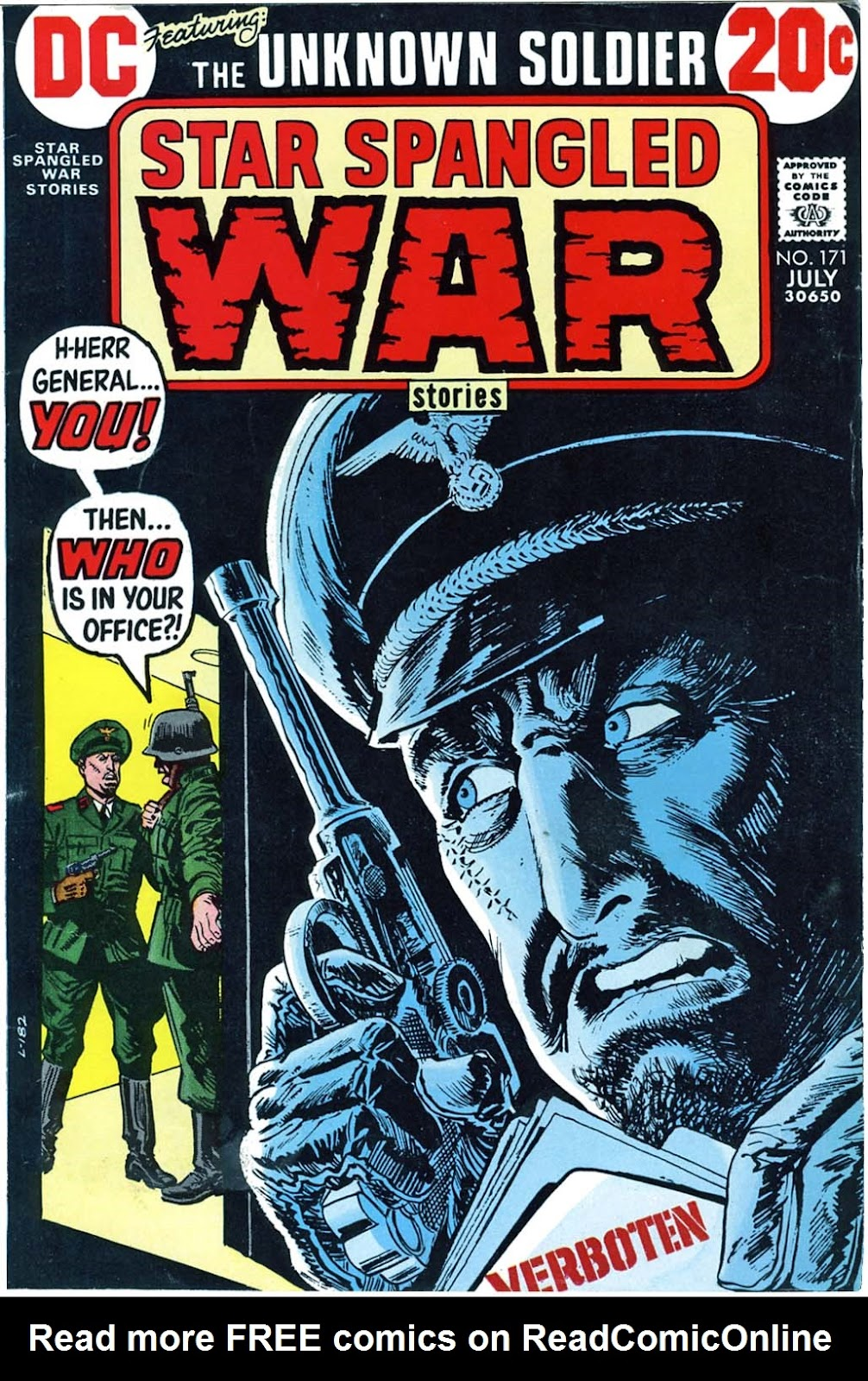 Star Spangled War Stories (1952) issue 171 - Page 1