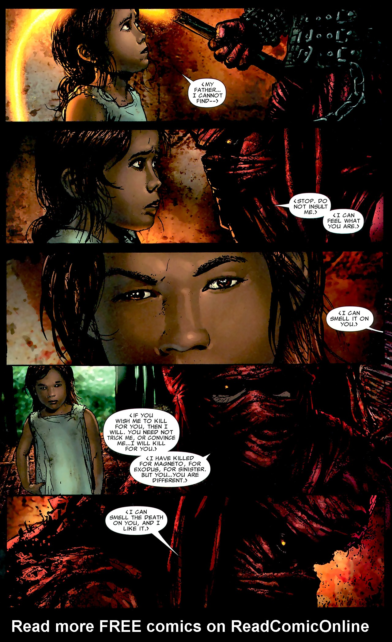 Read online X Necrosha: The Gathering comic -  Issue # Full - 24