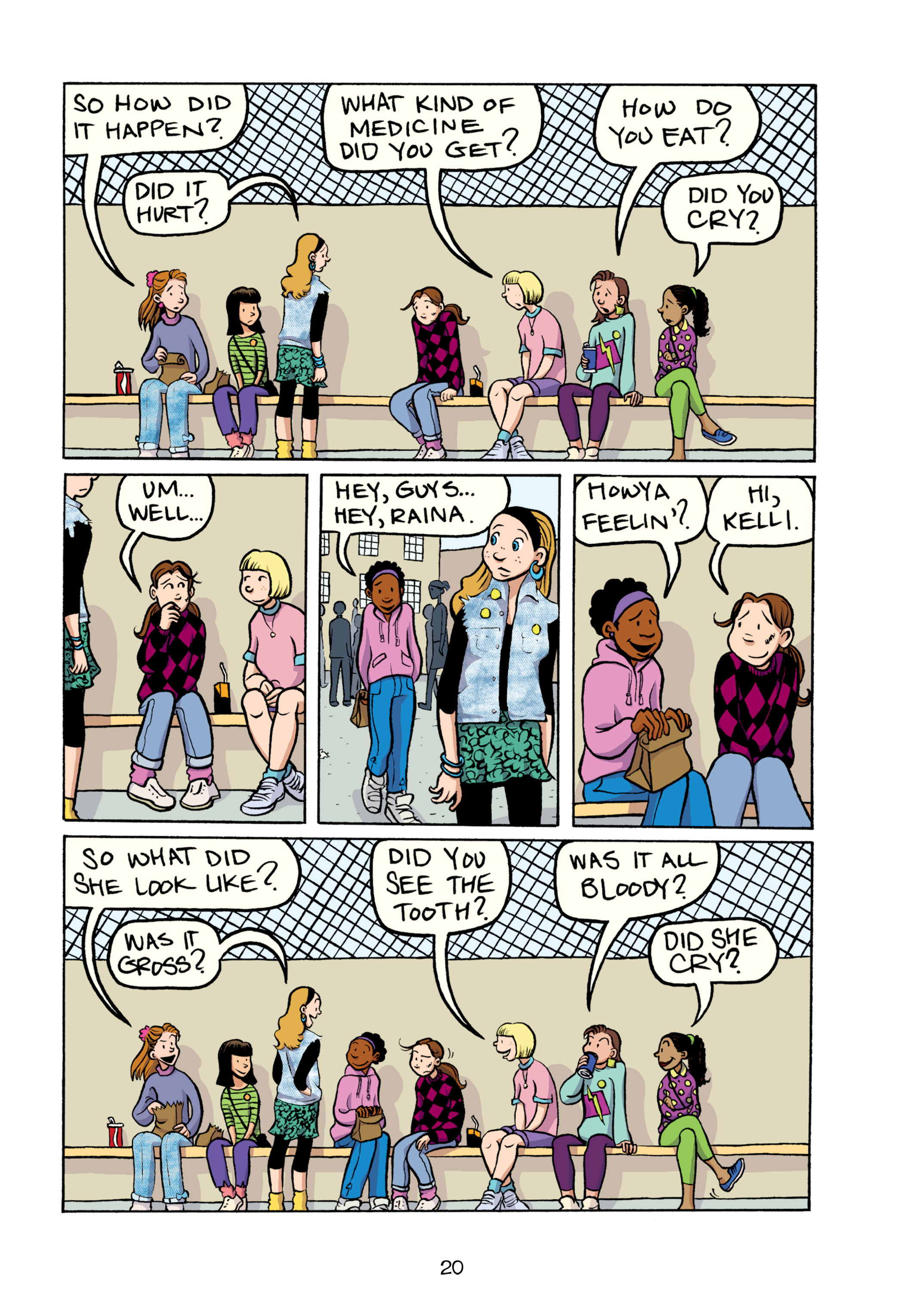 Read online Smile comic -  Issue # TPB - 26
