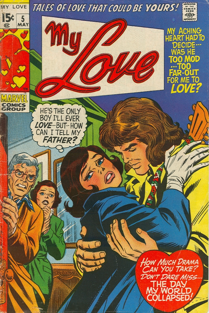 My Love (1969) issue 5 - Page 1