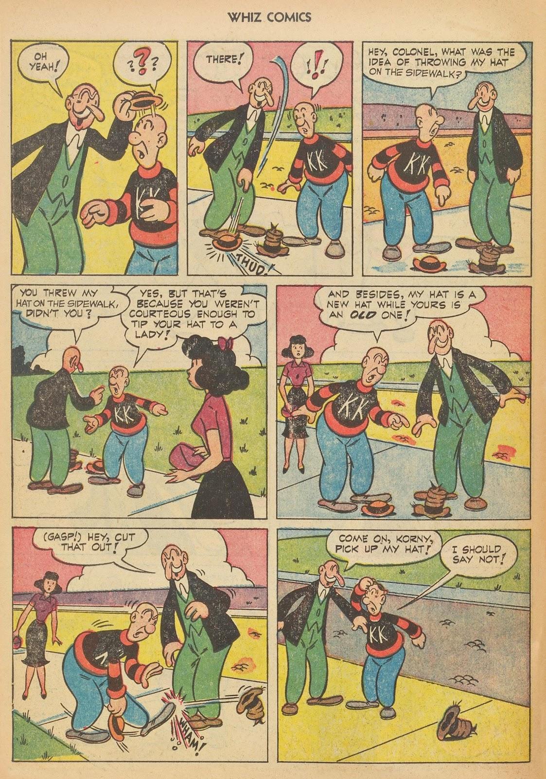 Read online WHIZ Comics comic -  Issue #153 - 26