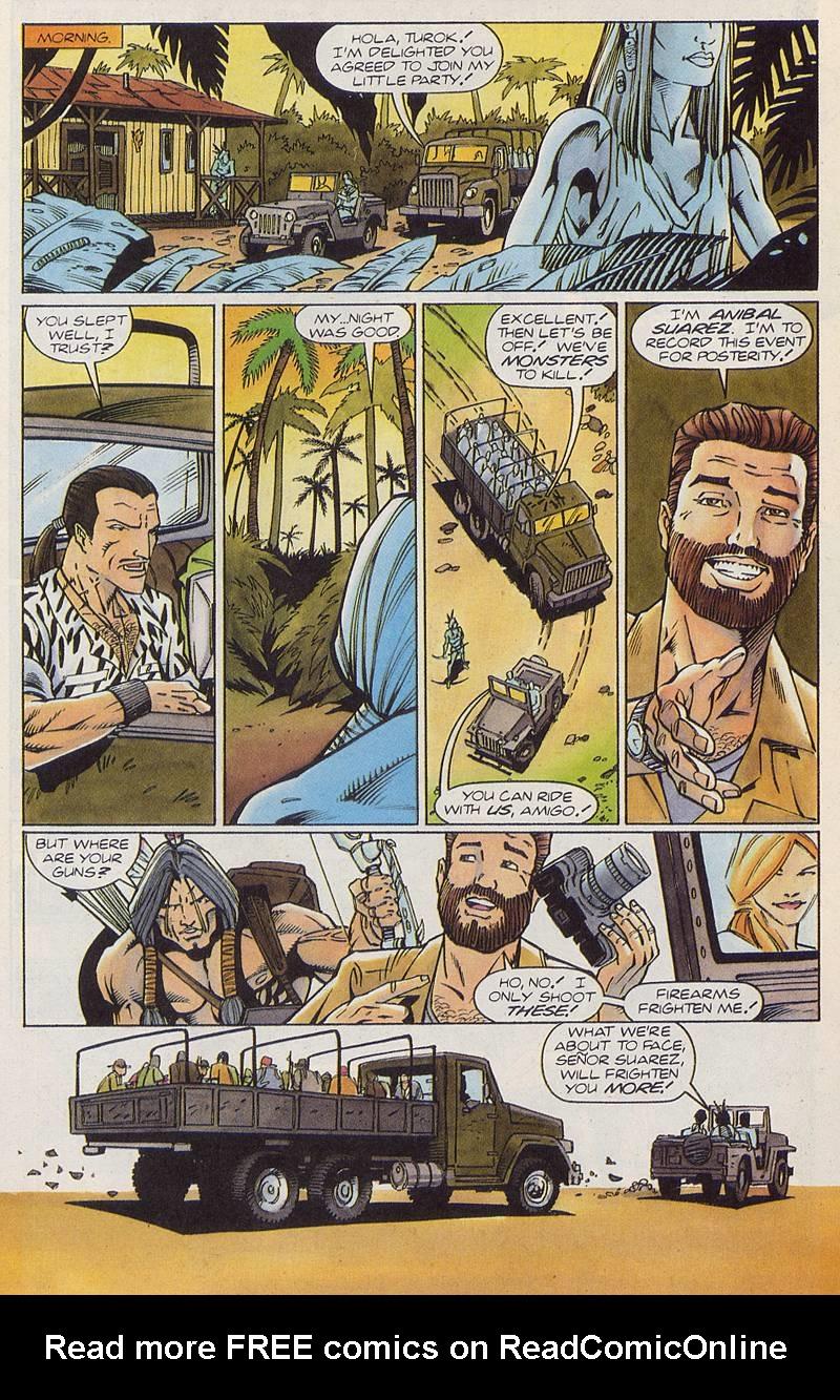 Read online Turok, Dinosaur Hunter (1993) comic -  Issue #3 - 9