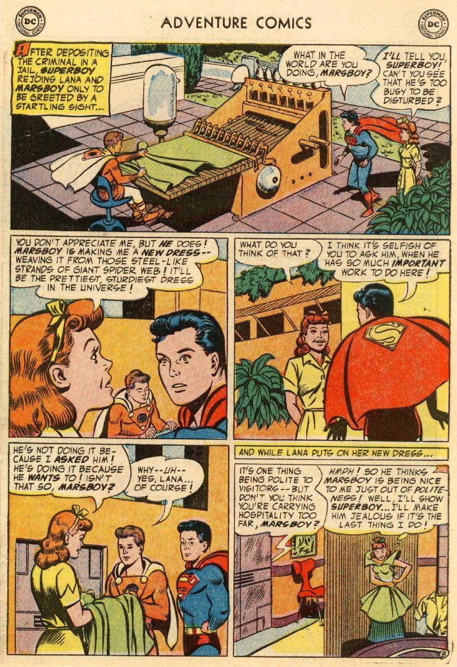Read online Adventure Comics (1938) comic -  Issue #195 - 10