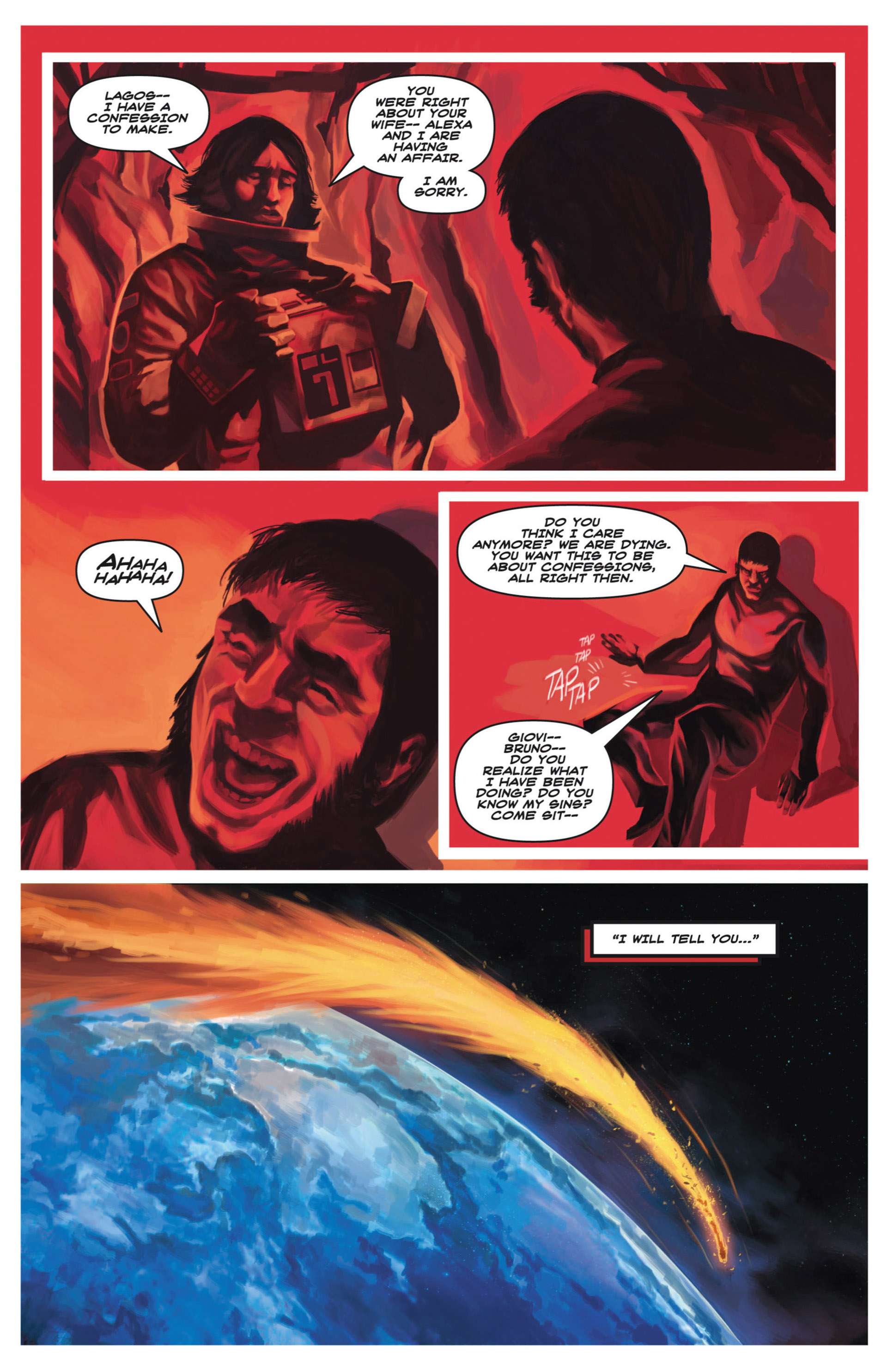 Read online Space: 1999: Aftershock comic -  Issue #3 - 5