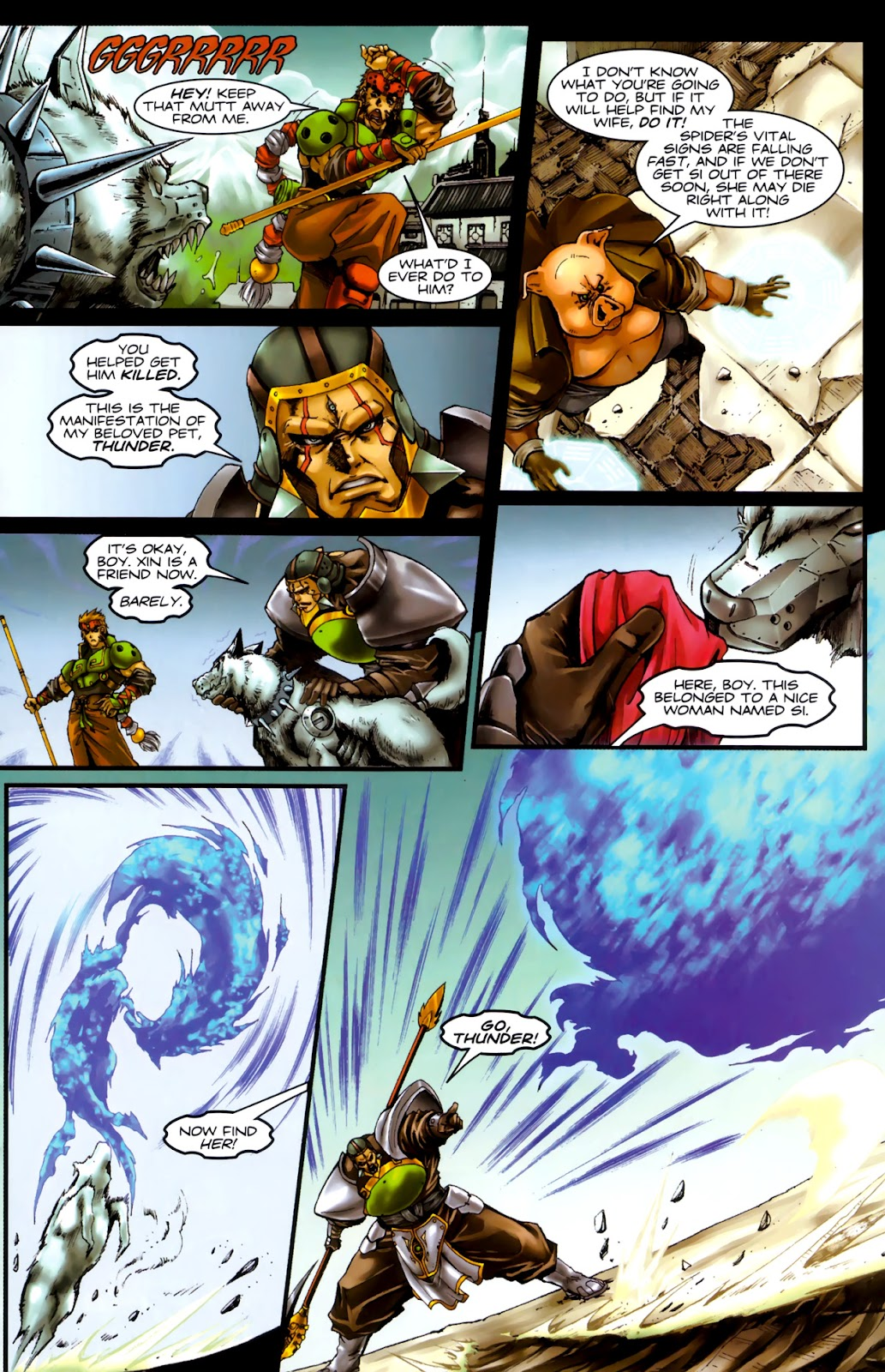 Read online Xin: Journey of the Monkey King comic -  Issue #3 - 14