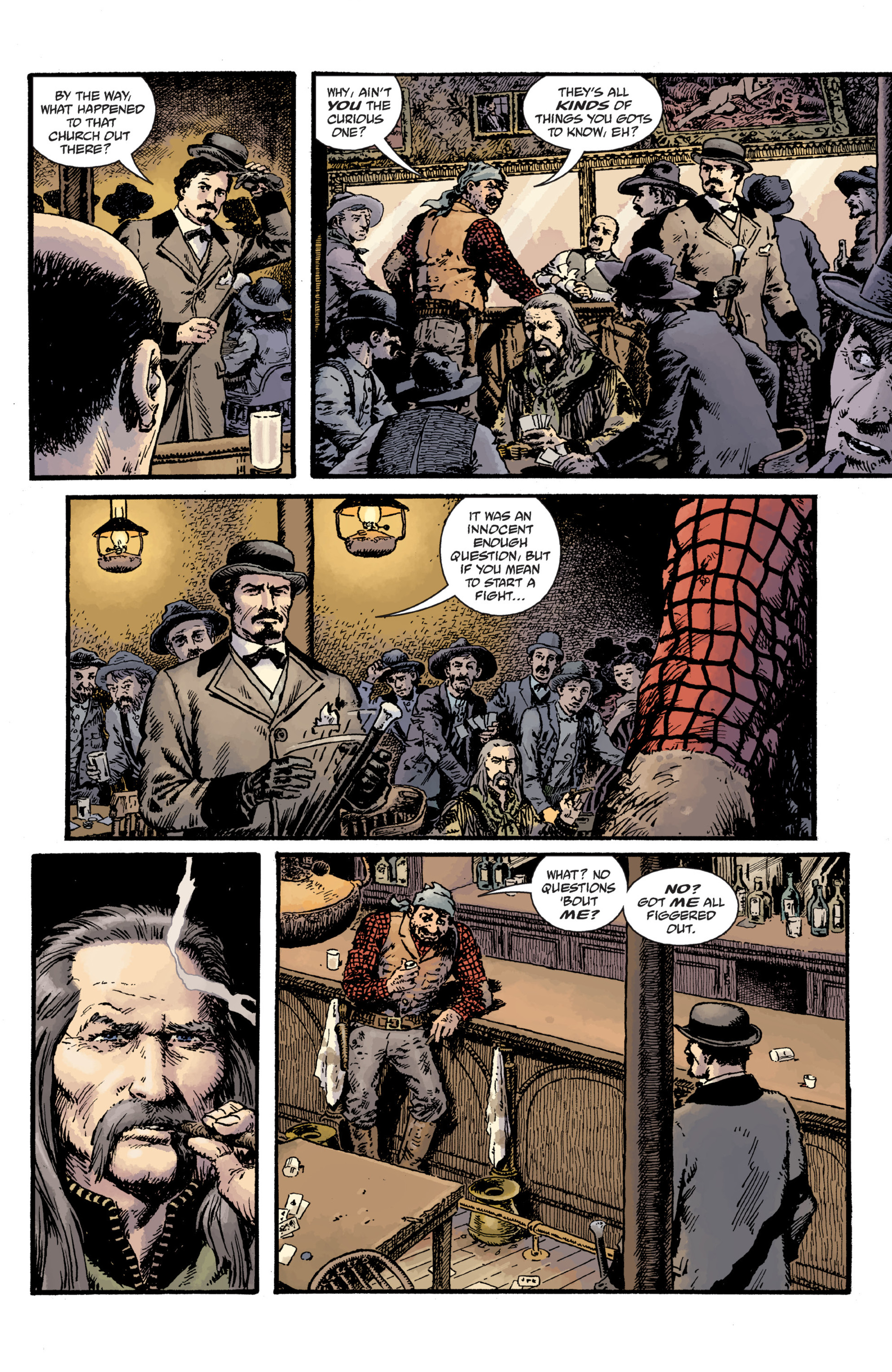 Read online Sir Edward Grey, Witchfinder: Lost and Gone Forever comic -  Issue # TPB - 16