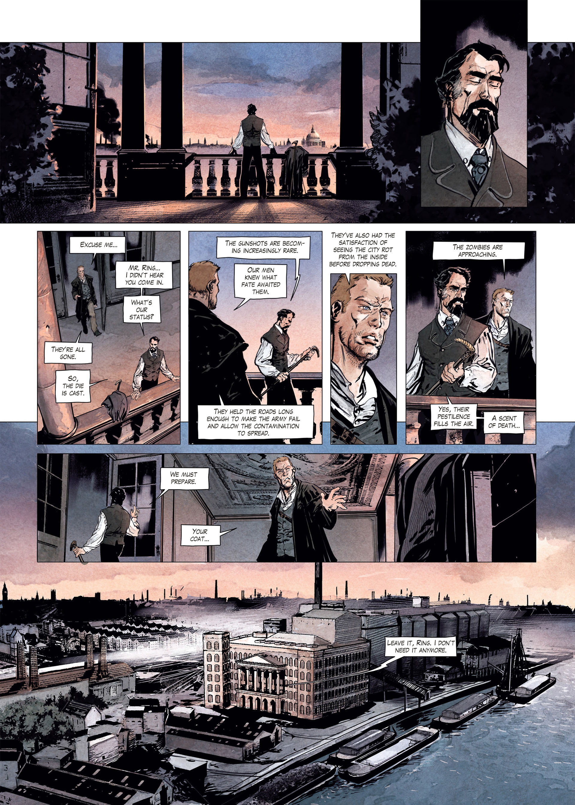Read online Sherlock Holmes Society Tome 4 : Contamination comic -  Issue # Full - 24
