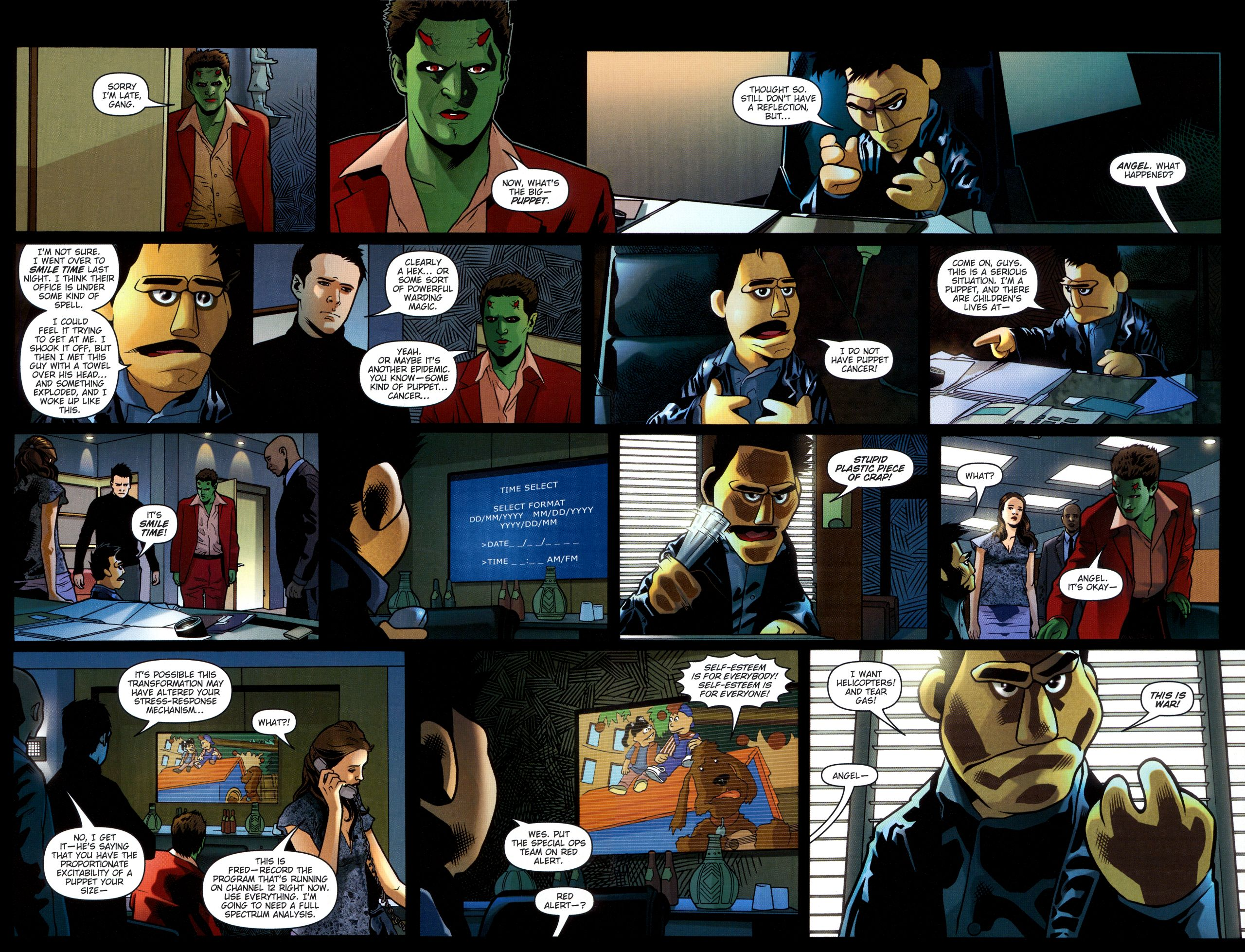 Read online Angel: Smile Time comic -  Issue #2 - 7