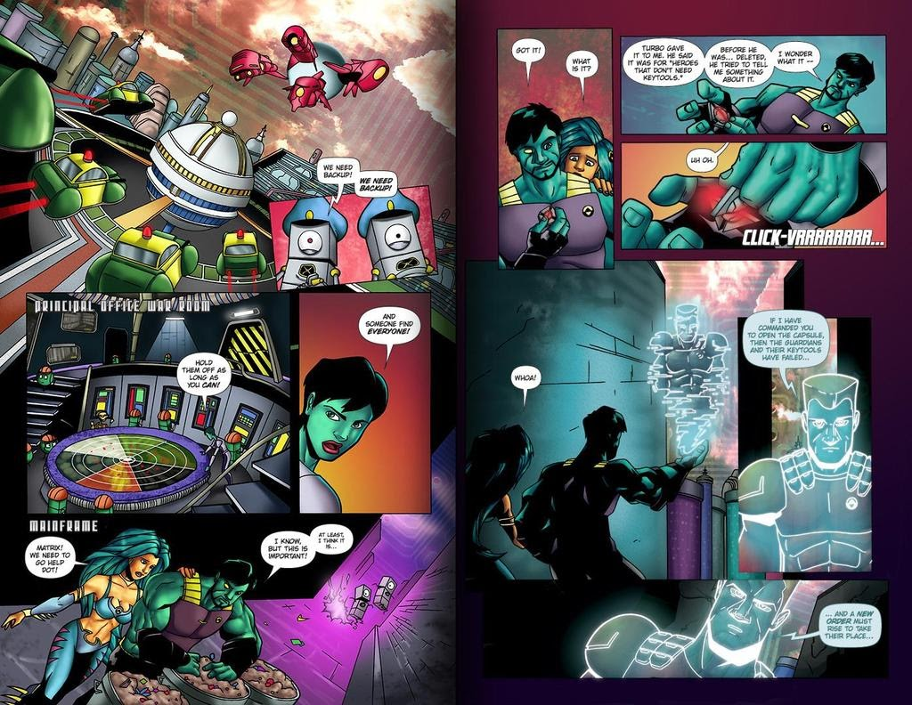 Read online ReBoot: Paradigms Lost comic -  Issue # Full - 21