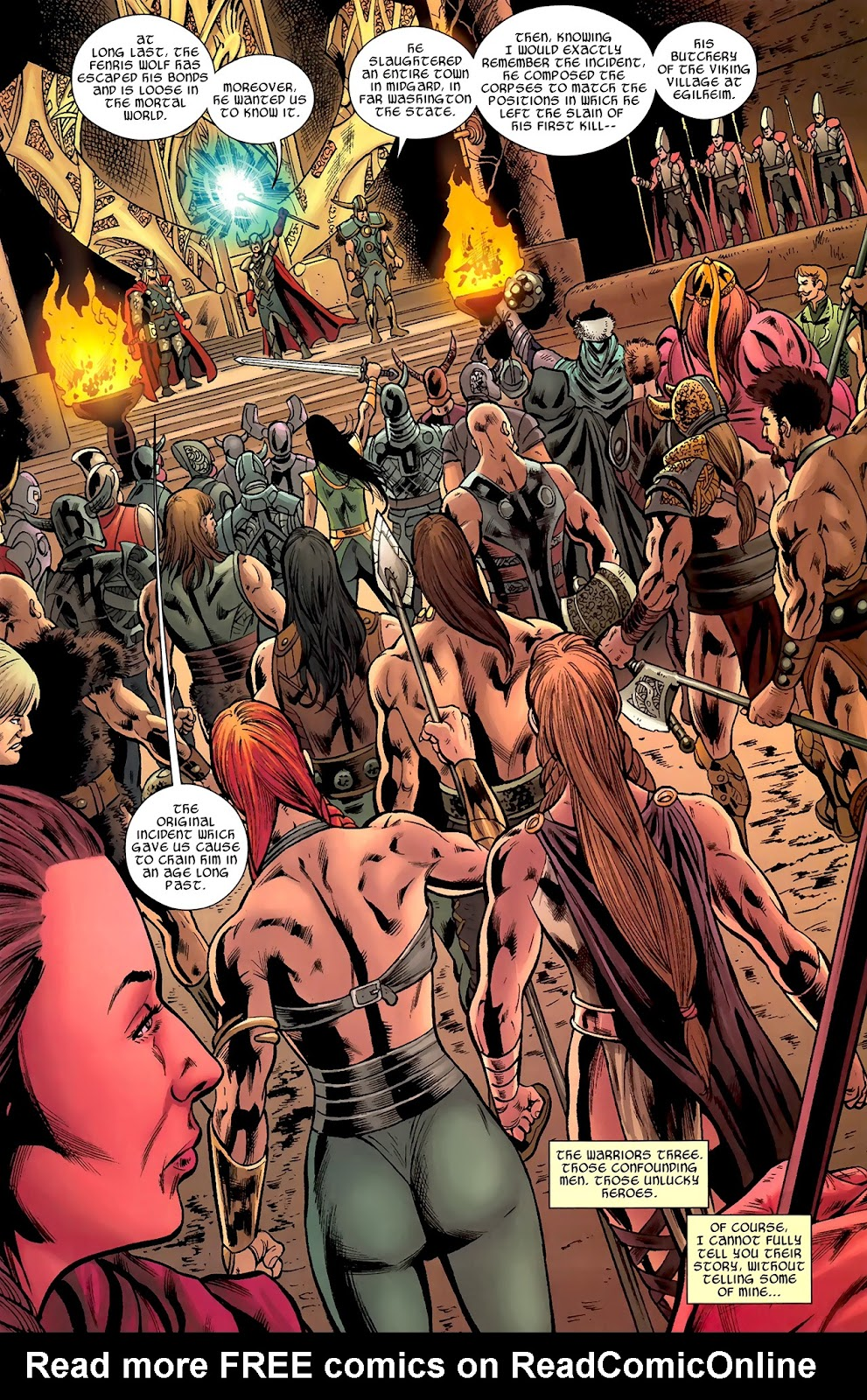 Warriors Three Issue #1 #1 - English 9