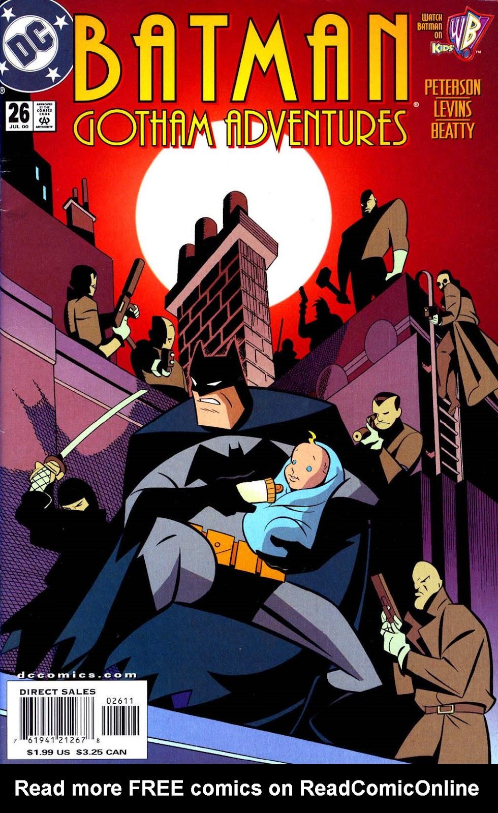 Batman: Gotham Adventures issue 26 - Page 1