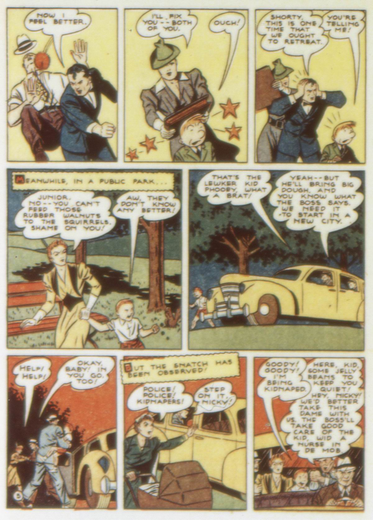 Read online Detective Comics (1937) comic -  Issue #58 - 62