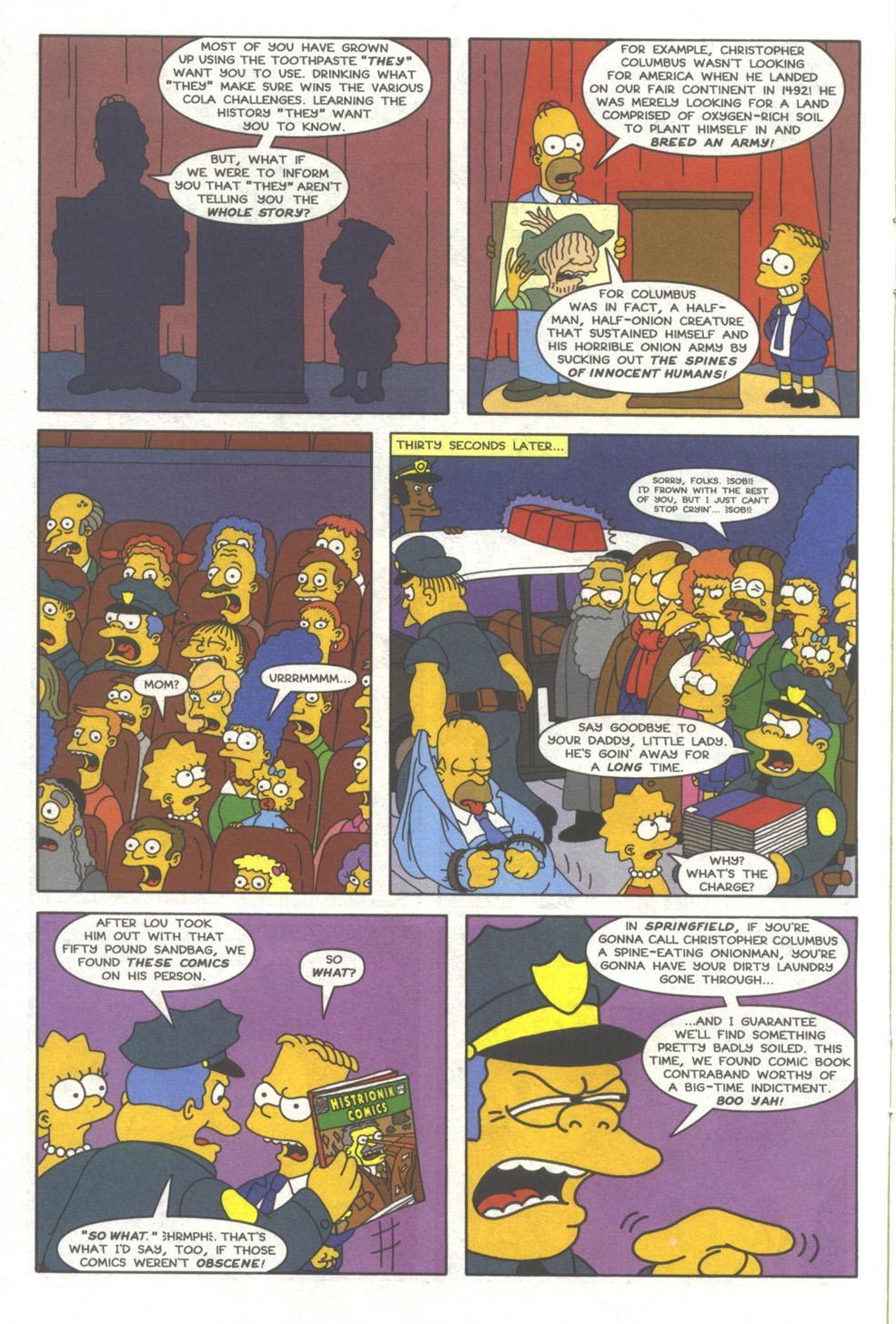 Read online Simpsons Comics comic -  Issue #39 - 9