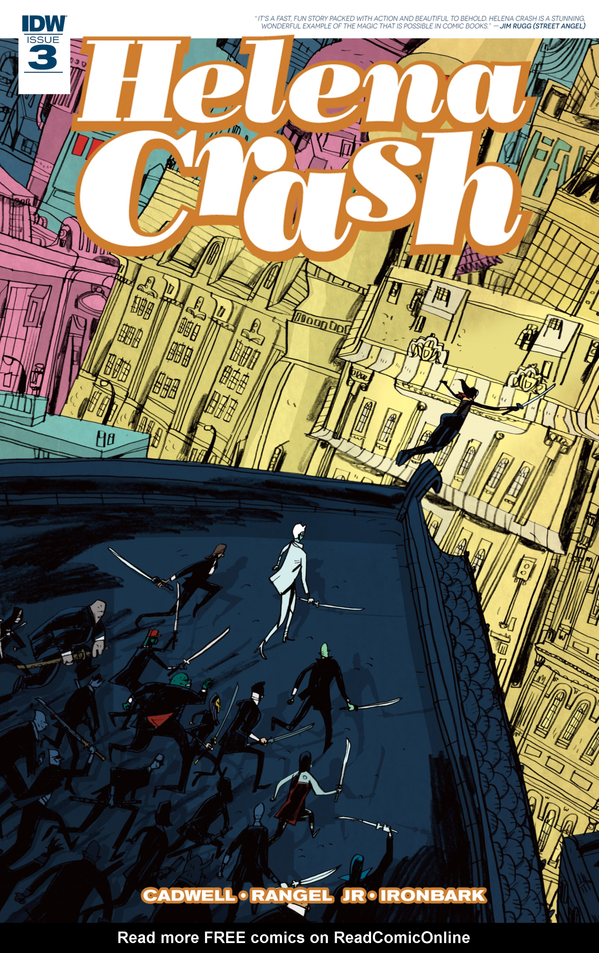Read online Helena Crash comic -  Issue #3 - 1