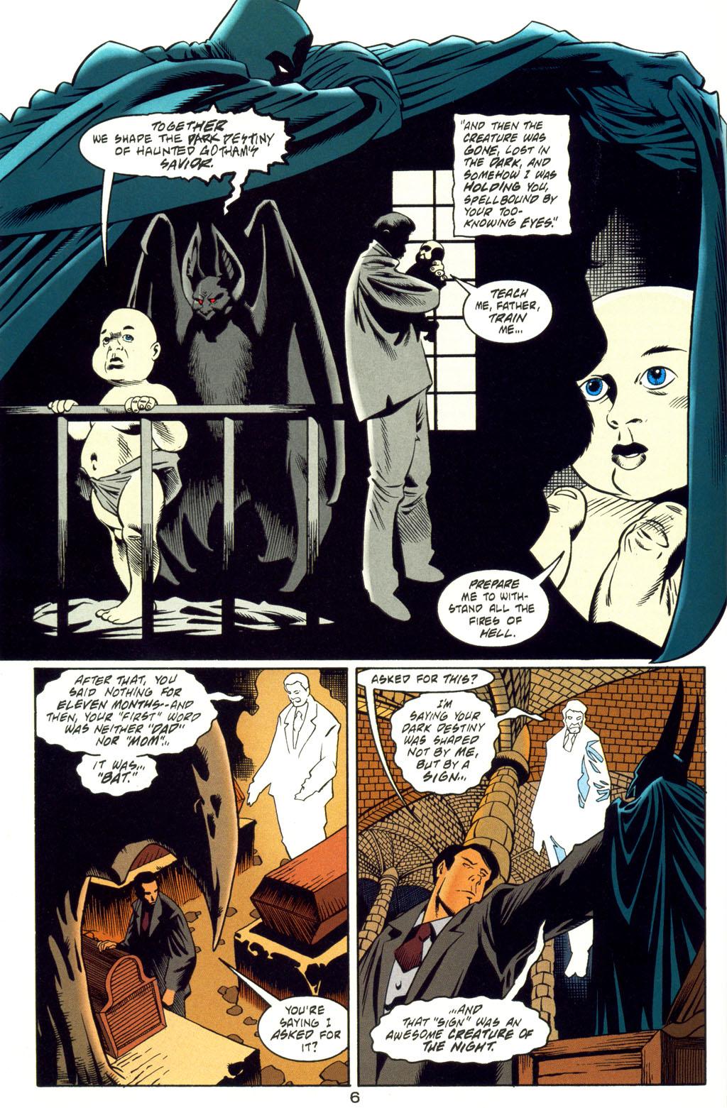 Read online Batman: Haunted Gotham comic -  Issue #4 - 7