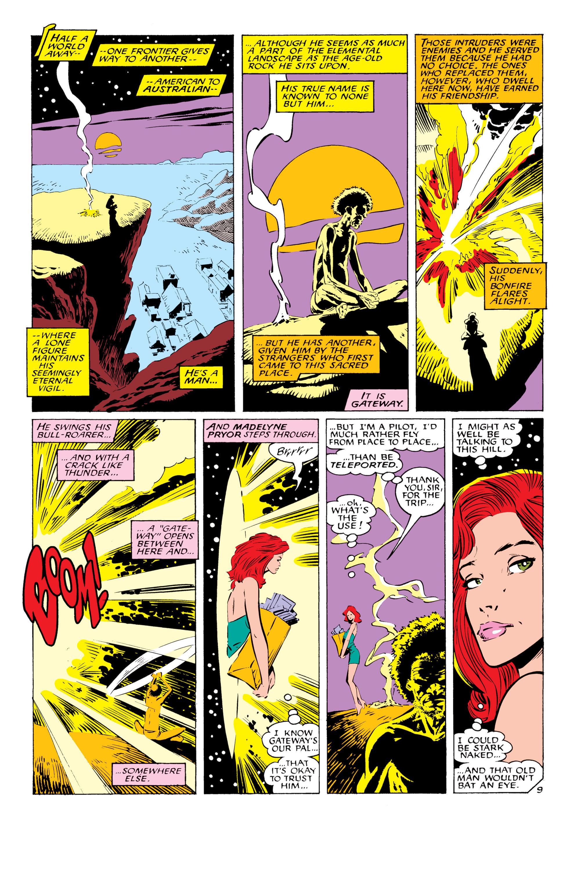 Read online Uncanny X-Men (1963) comic -  Issue #232 - 10