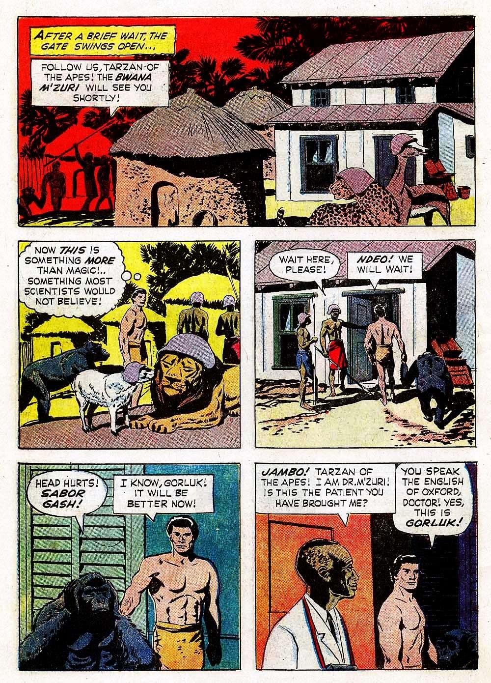 Tarzan (1962) issue 139 - Page 10