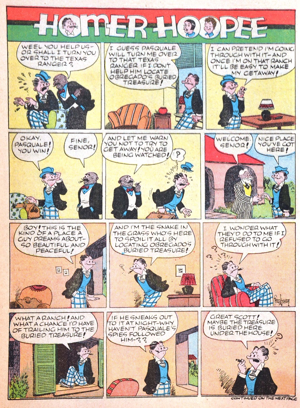 Read online Famous Funnies comic -  Issue #52 - 61