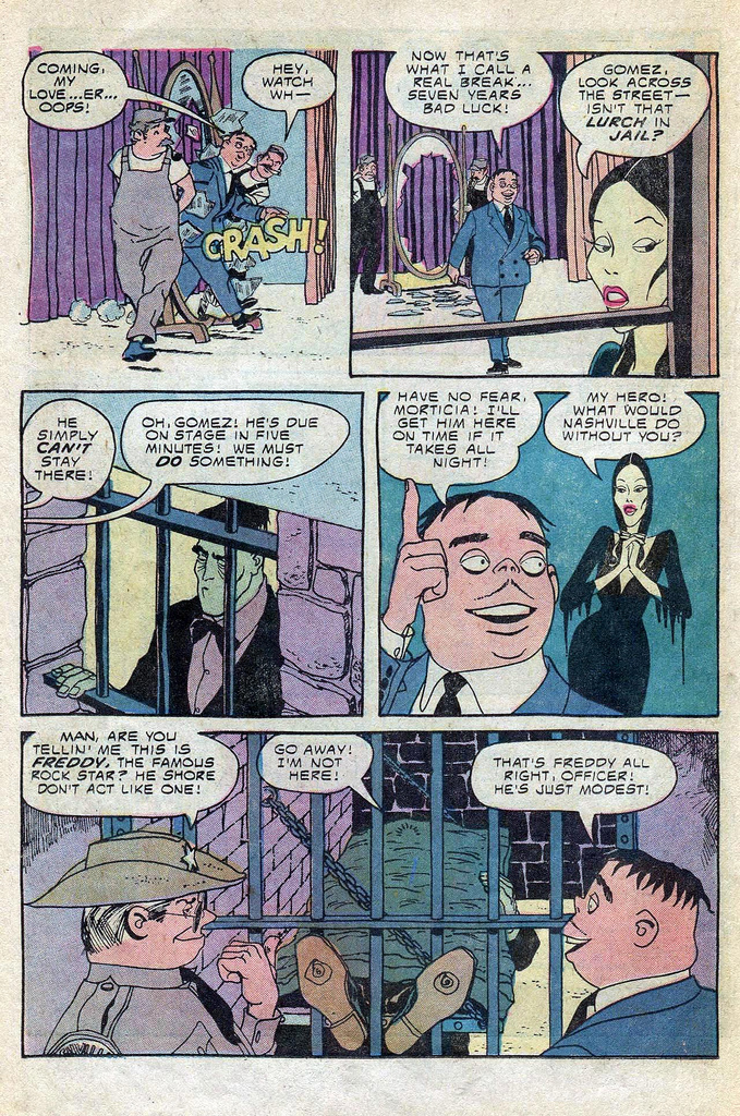 Read online Addams Family comic -  Issue #3 - 15
