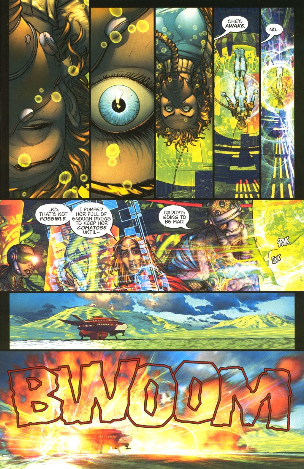 Read online Chimera comic -  Issue #4 - 10