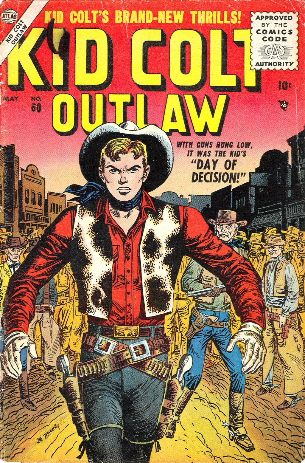 Kid Colt Outlaw issue 60 - Page 1