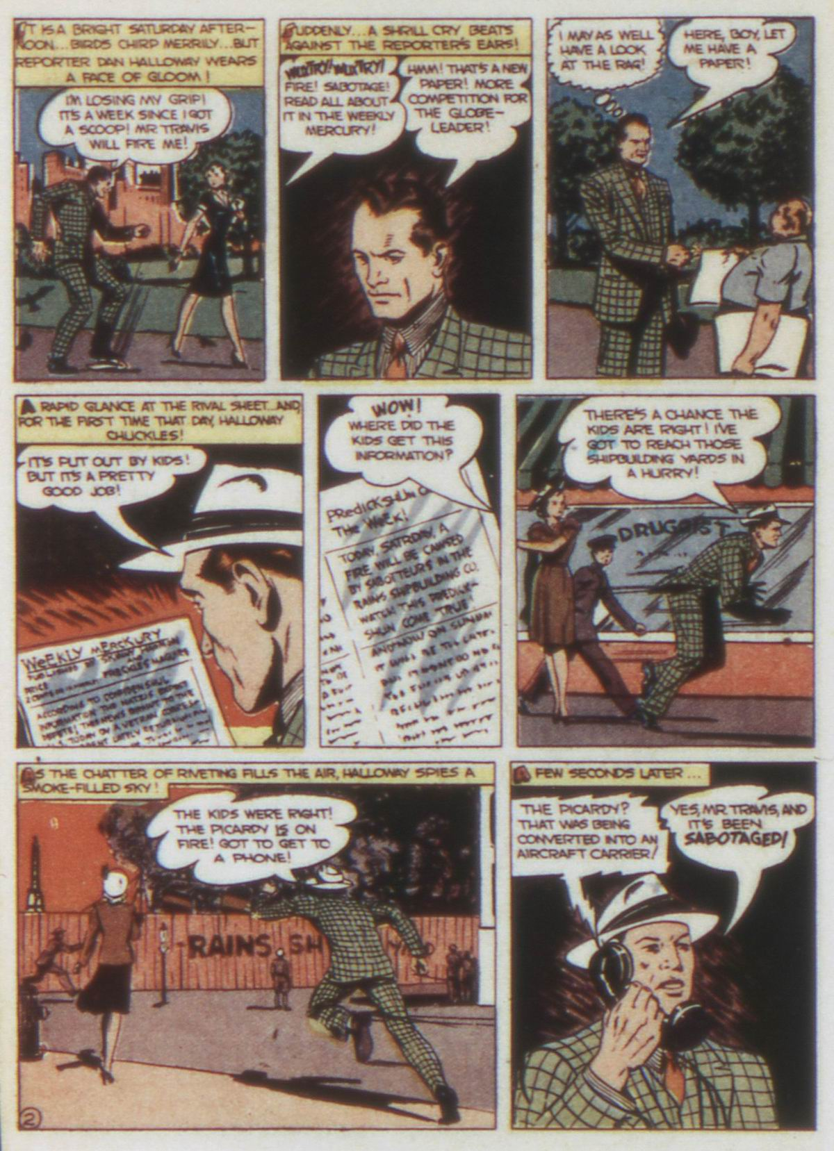 Read online Detective Comics (1937) comic -  Issue #74 - 32