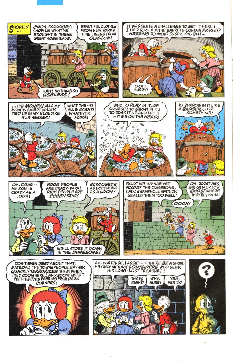 Read online Uncle Scrooge (1953) comic -  Issue #293 - 7
