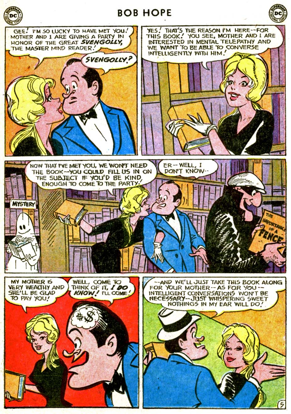 The Adventures of Bob Hope issue 77 - Page 7