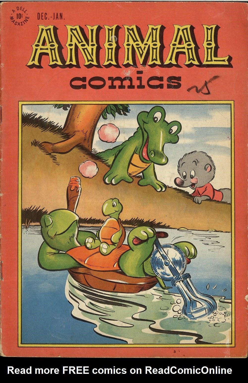 Read online Animal Comics comic -  Issue #24 - 1